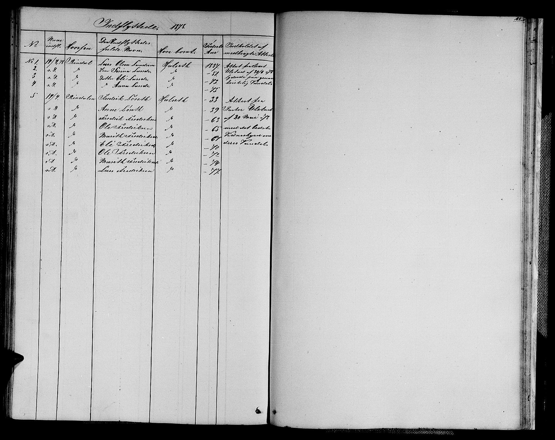 SAT, Ministerialprotokoller, klokkerbøker og fødselsregistre - Sør-Trøndelag, 611/L0353: Klokkerbok nr. 611C01, 1854-1881, s. 151