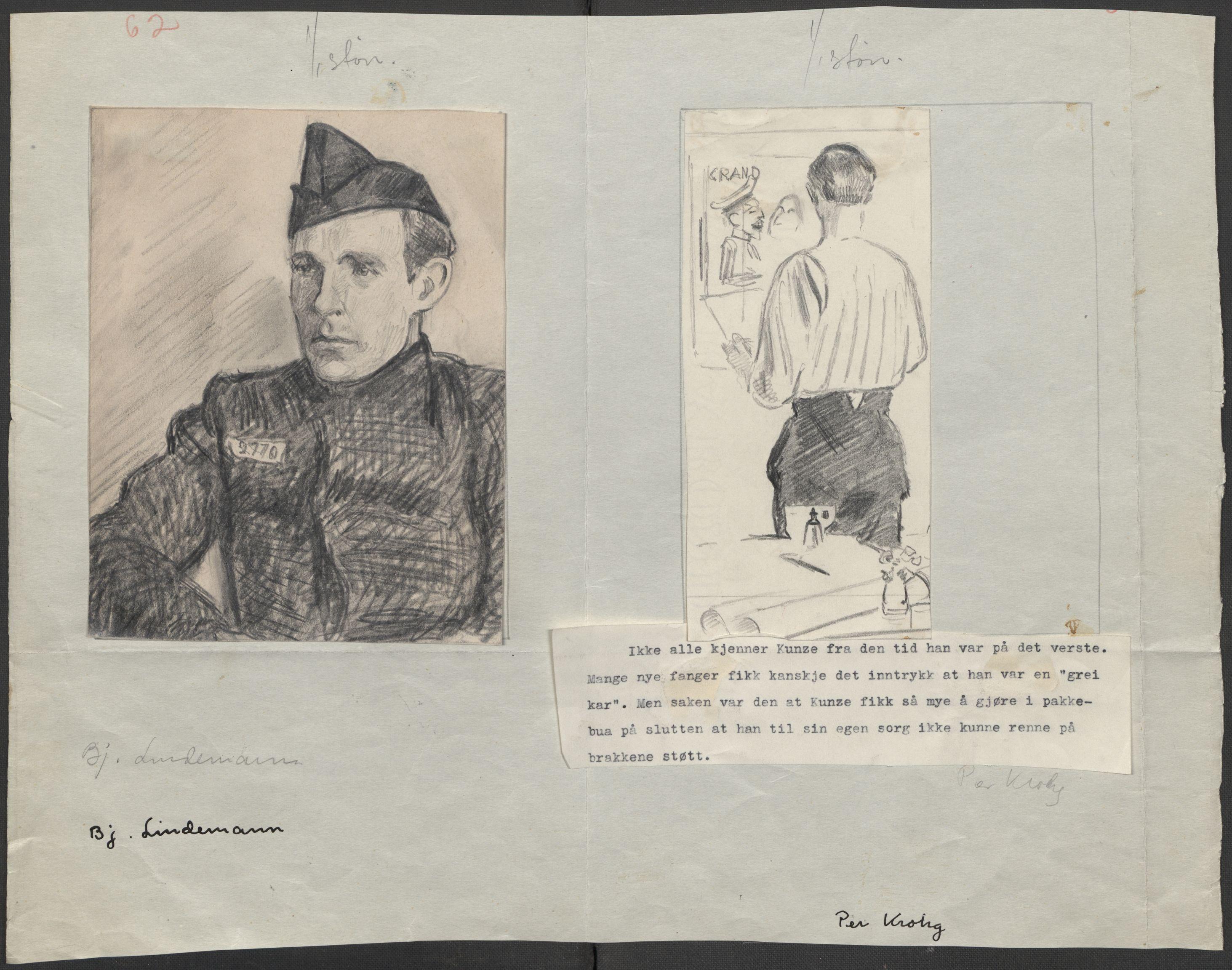 RA, Grøgaard, Joachim, F/L0002: Tegninger og tekster, 1942-1945, s. 105