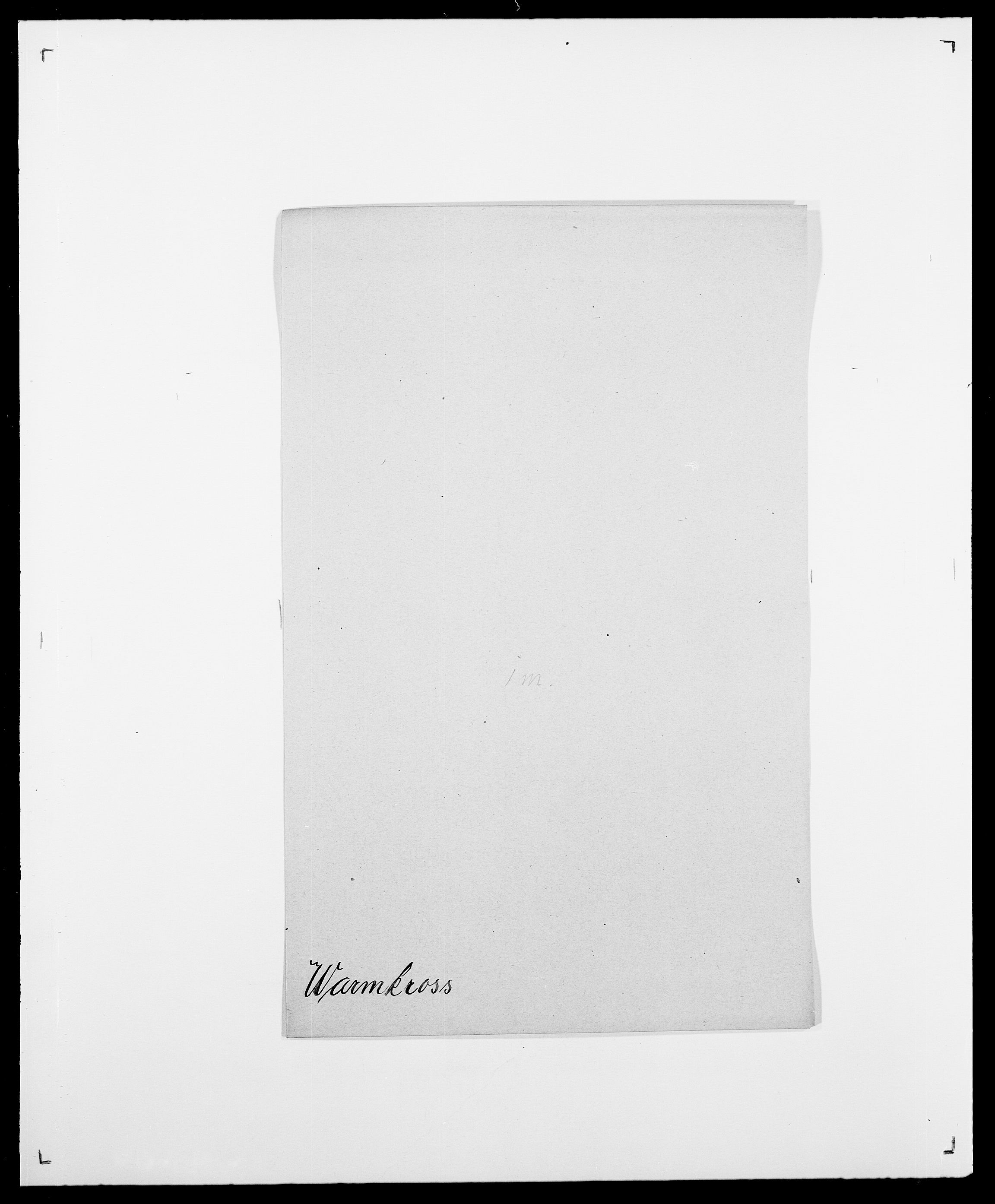 SAO, Delgobe, Charles Antoine - samling, D/Da/L0040: Usgaard - Velund, s. 326
