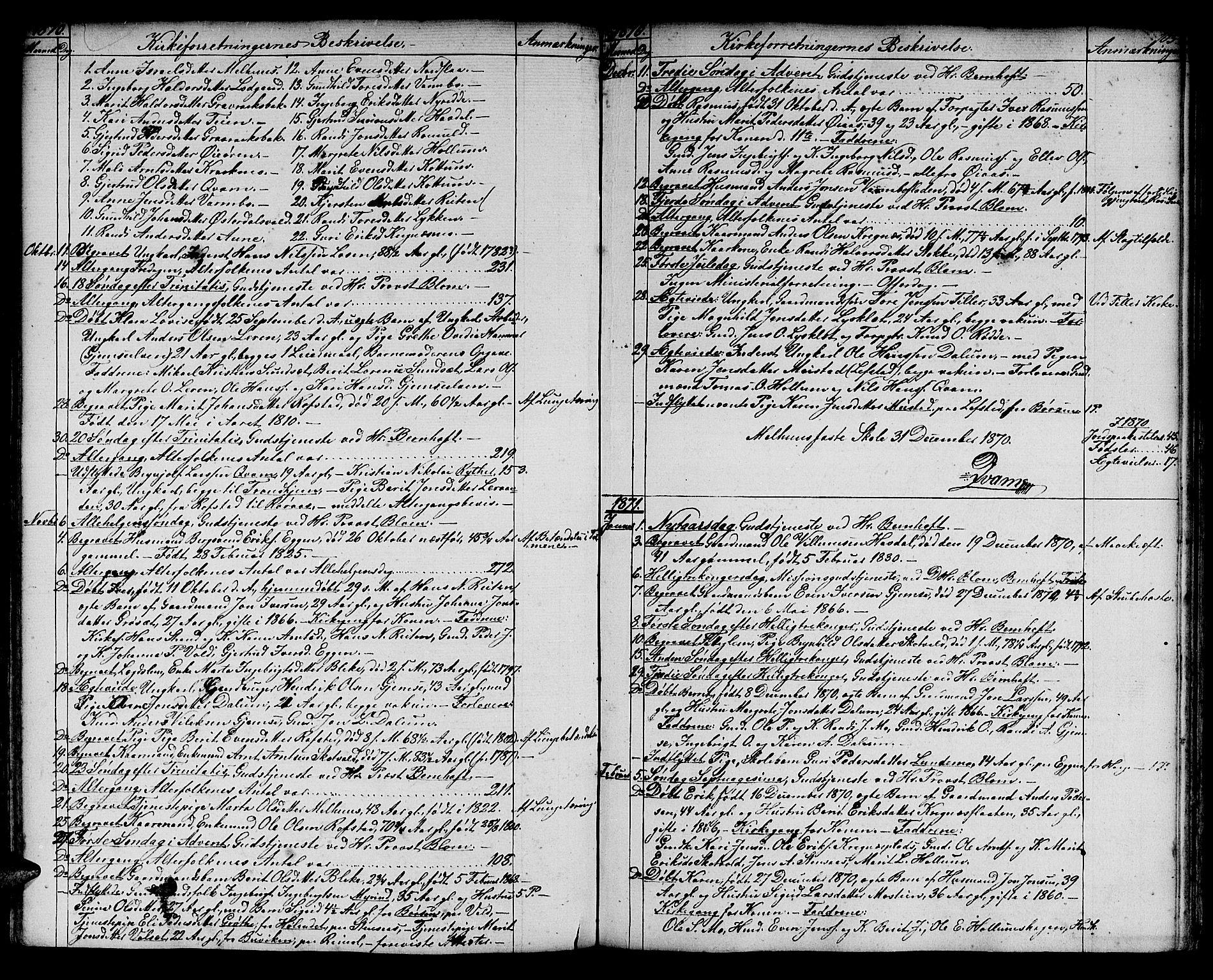 SAT, Ministerialprotokoller, klokkerbøker og fødselsregistre - Sør-Trøndelag, 691/L1093: Klokkerbok nr. 691C04, 1852-1879, s. 105