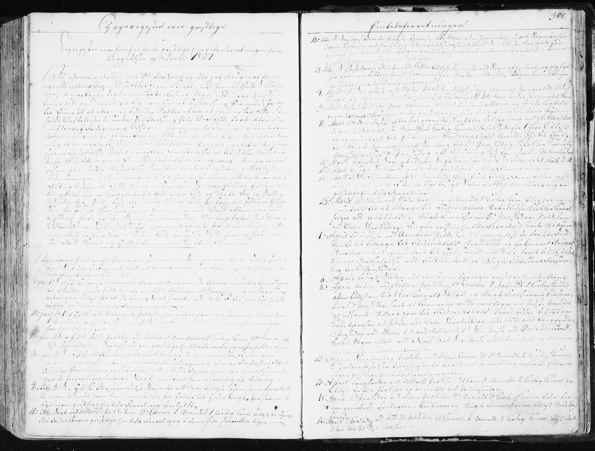 SAT, Ministerialprotokoller, klokkerbøker og fødselsregistre - Sør-Trøndelag, 634/L0528: Ministerialbok nr. 634A04, 1827-1842, s. 355