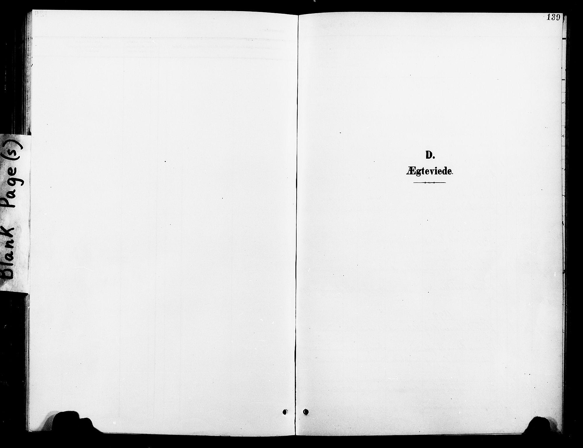 SAT, Ministerialprotokoller, klokkerbøker og fødselsregistre - Nord-Trøndelag, 739/L0375: Klokkerbok nr. 739C03, 1898-1908, s. 139