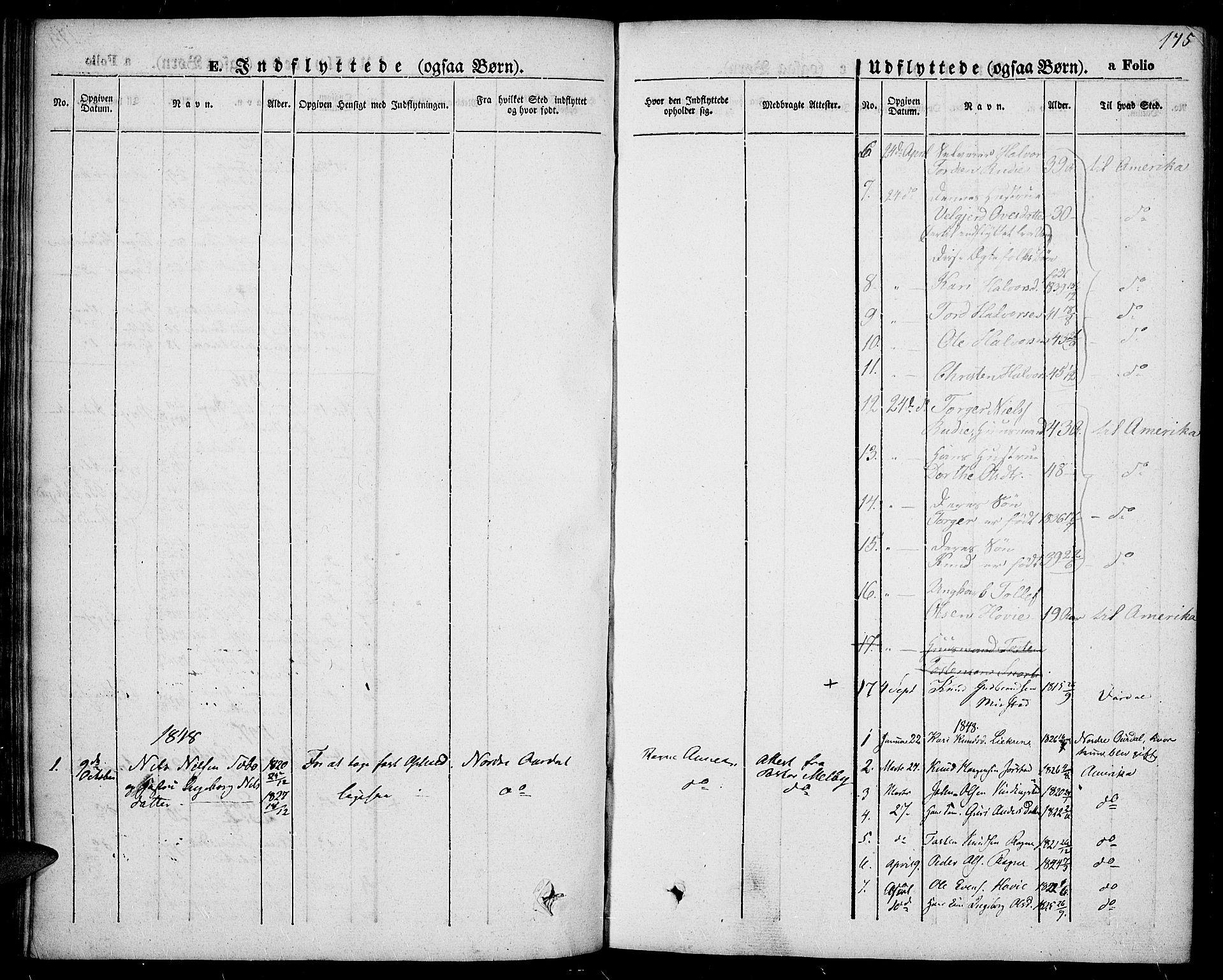 SAH, Slidre prestekontor, Ministerialbok nr. 4, 1831-1848, s. 175