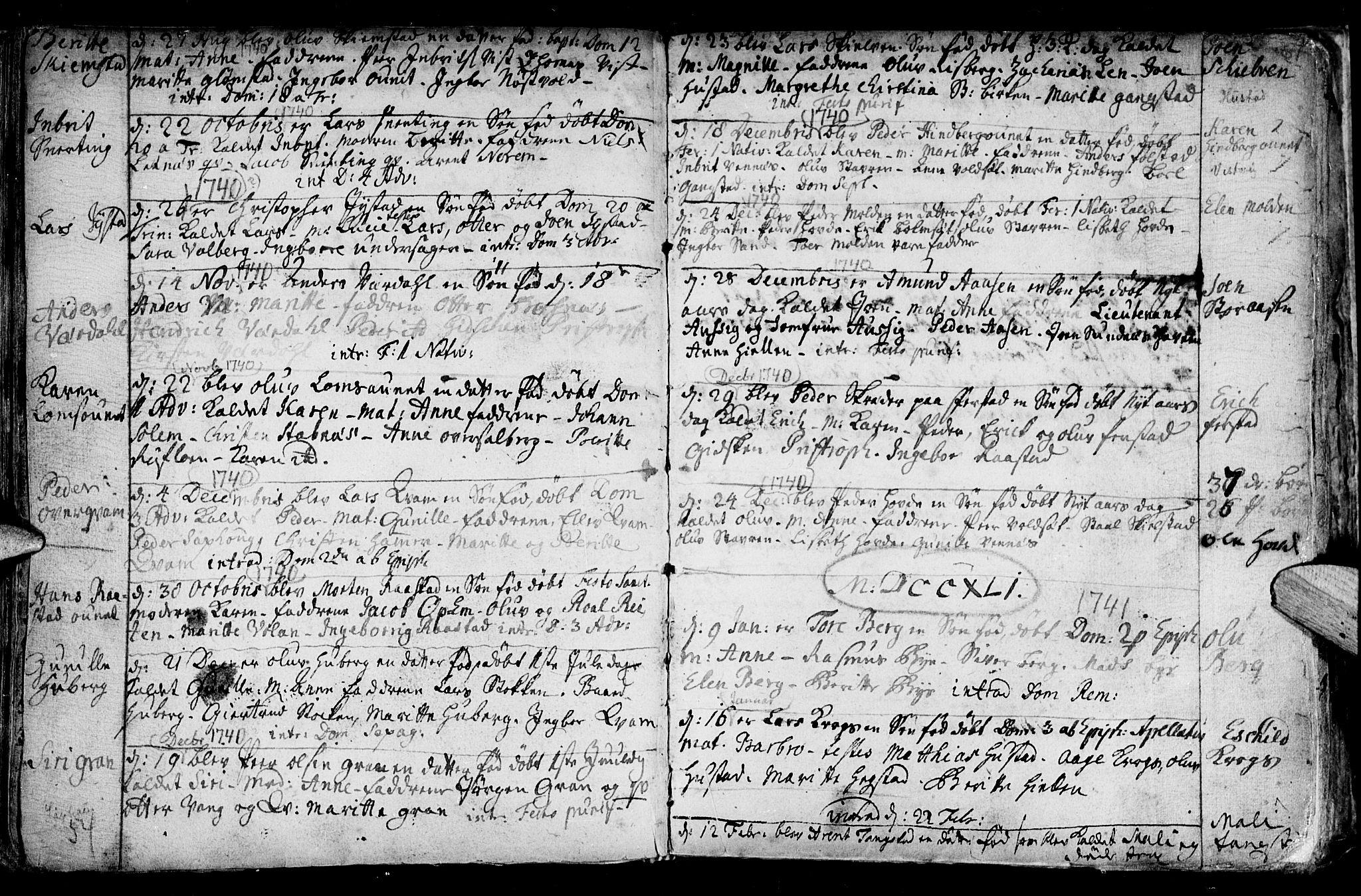 SAT, Ministerialprotokoller, klokkerbøker og fødselsregistre - Nord-Trøndelag, 730/L0272: Ministerialbok nr. 730A01, 1733-1764, s. 61