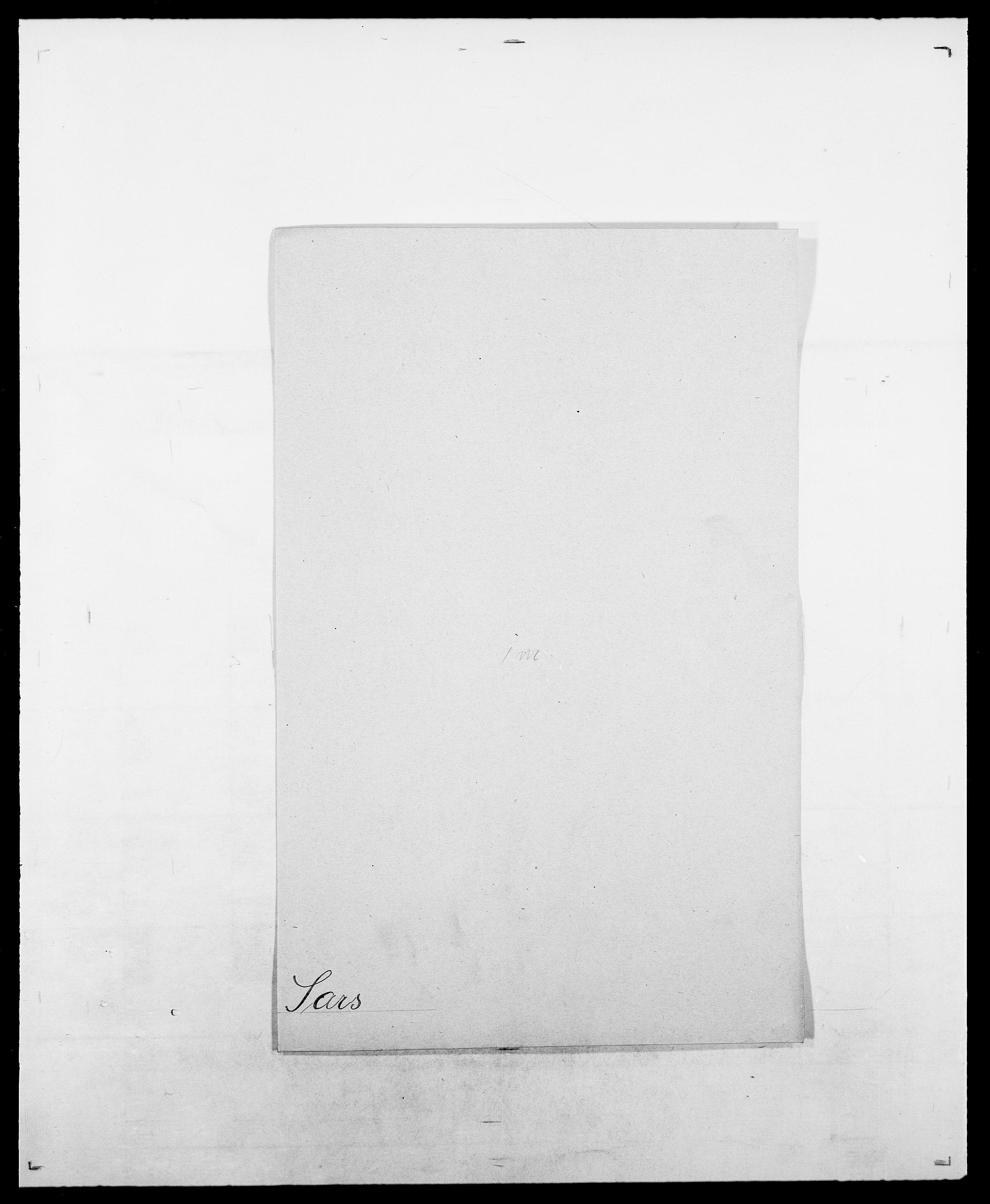 SAO, Delgobe, Charles Antoine - samling, D/Da/L0034: Saabye - Schmincke, s. 208