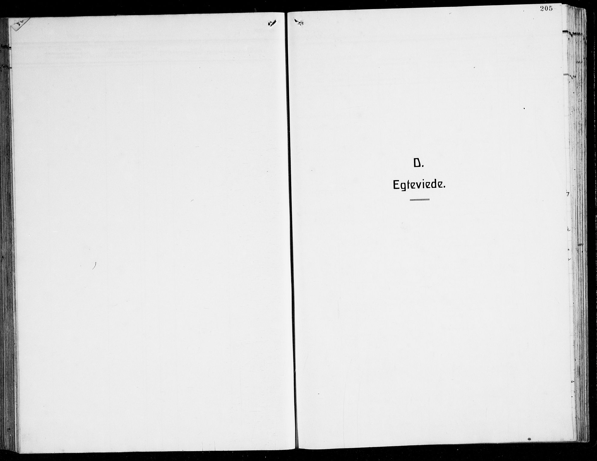 SAB, Herdla Sokneprestembete, H/Hab: Klokkerbok nr. C 3, 1926-1940, s. 205