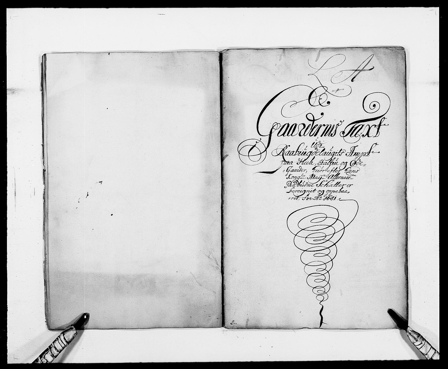 RA, Rentekammeret inntil 1814, Reviderte regnskaper, Fogderegnskap, R40/L2437: Fogderegnskap Råbyggelag, 1681, s. 7
