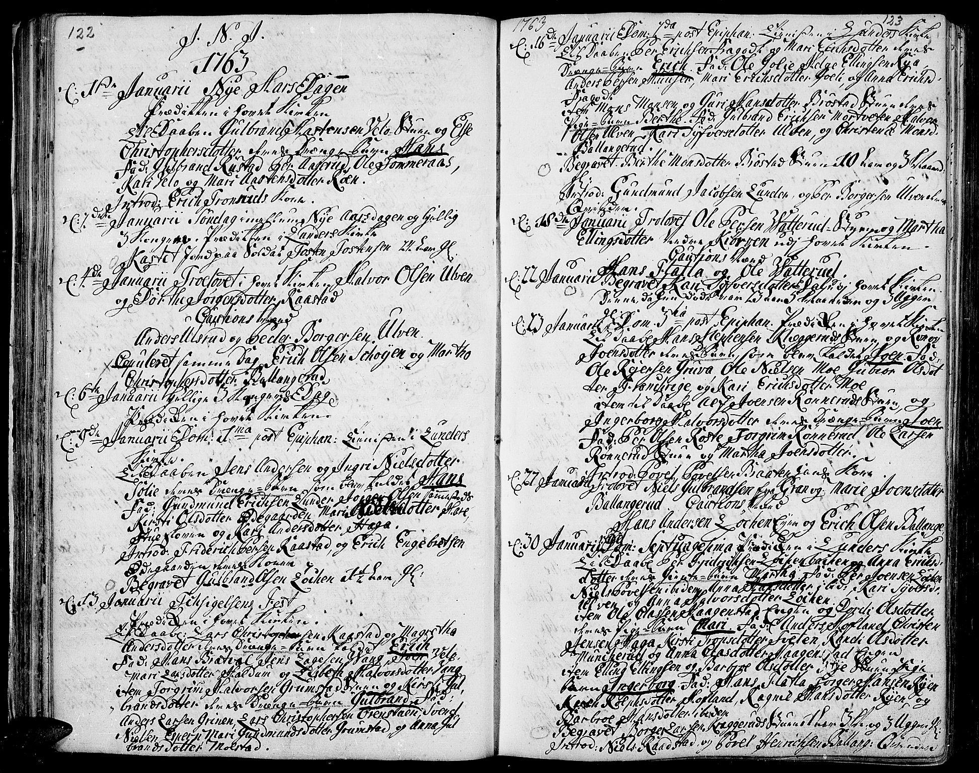SAH, Jevnaker prestekontor, Ministerialbok nr. 3, 1752-1799, s. 122-123
