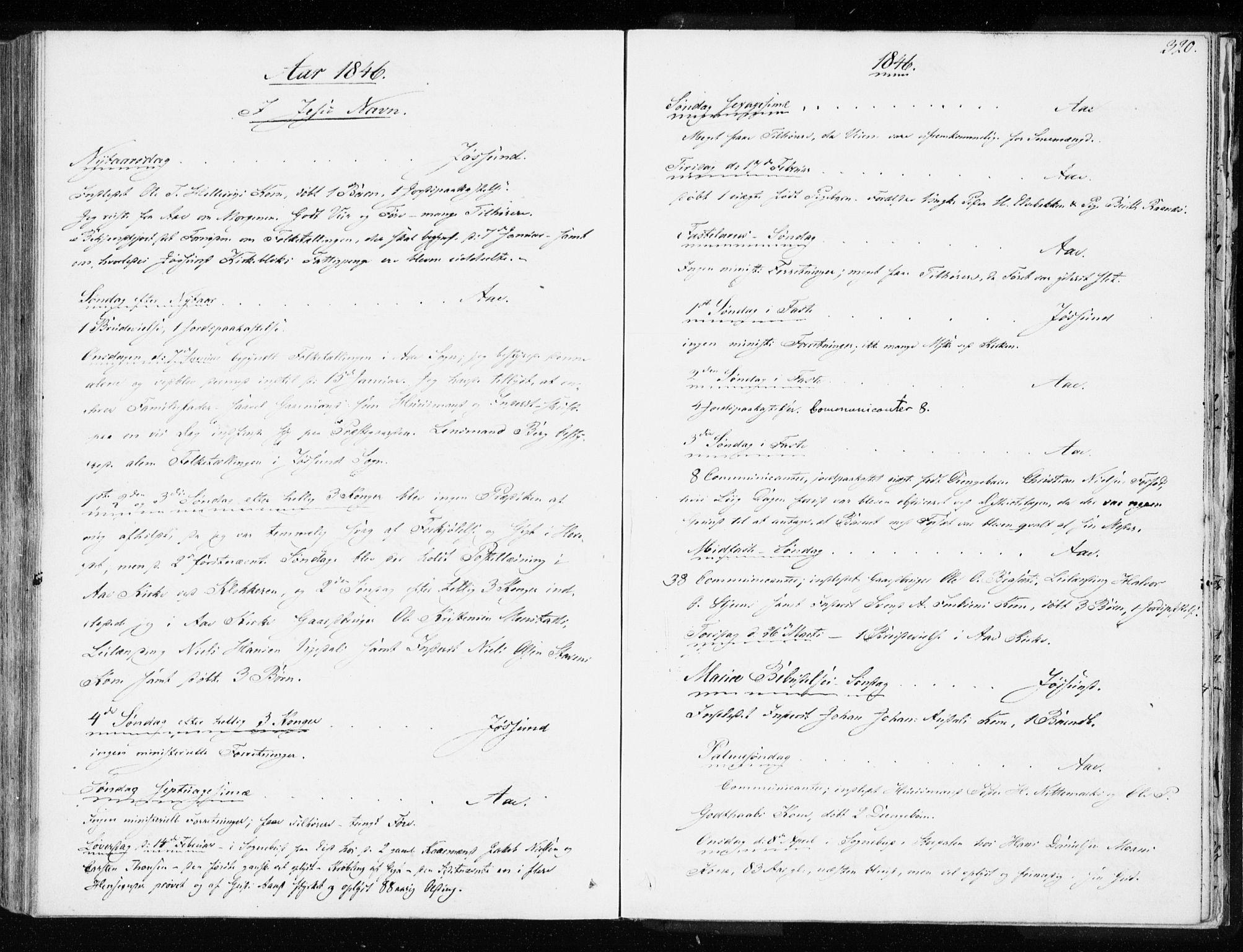SAT, Ministerialprotokoller, klokkerbøker og fødselsregistre - Sør-Trøndelag, 655/L0676: Ministerialbok nr. 655A05, 1830-1847, s. 320