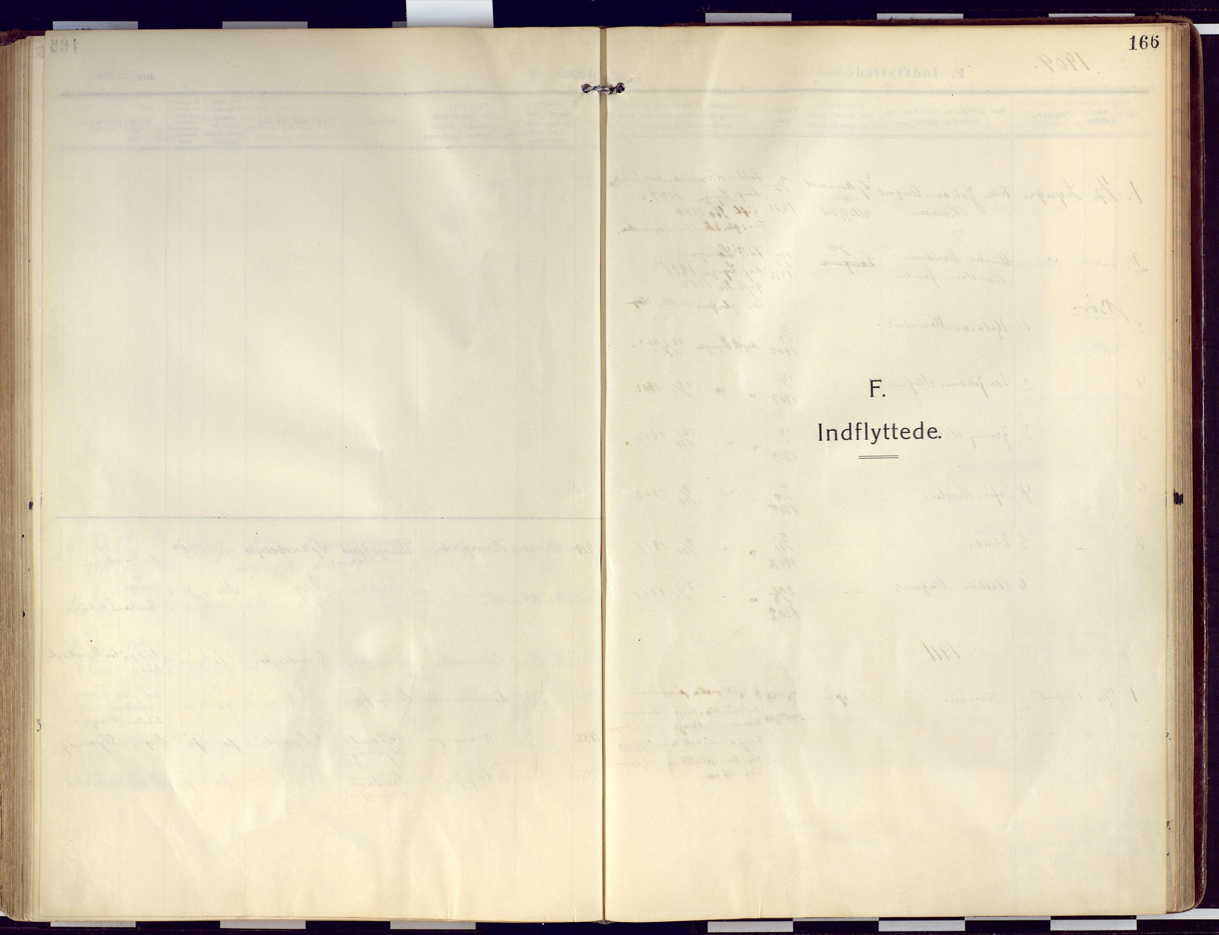 SATØ, Loppa sokneprestkontor, H/Ha/L0011kirke: Ministerialbok nr. 11, 1909-1919, s. 166