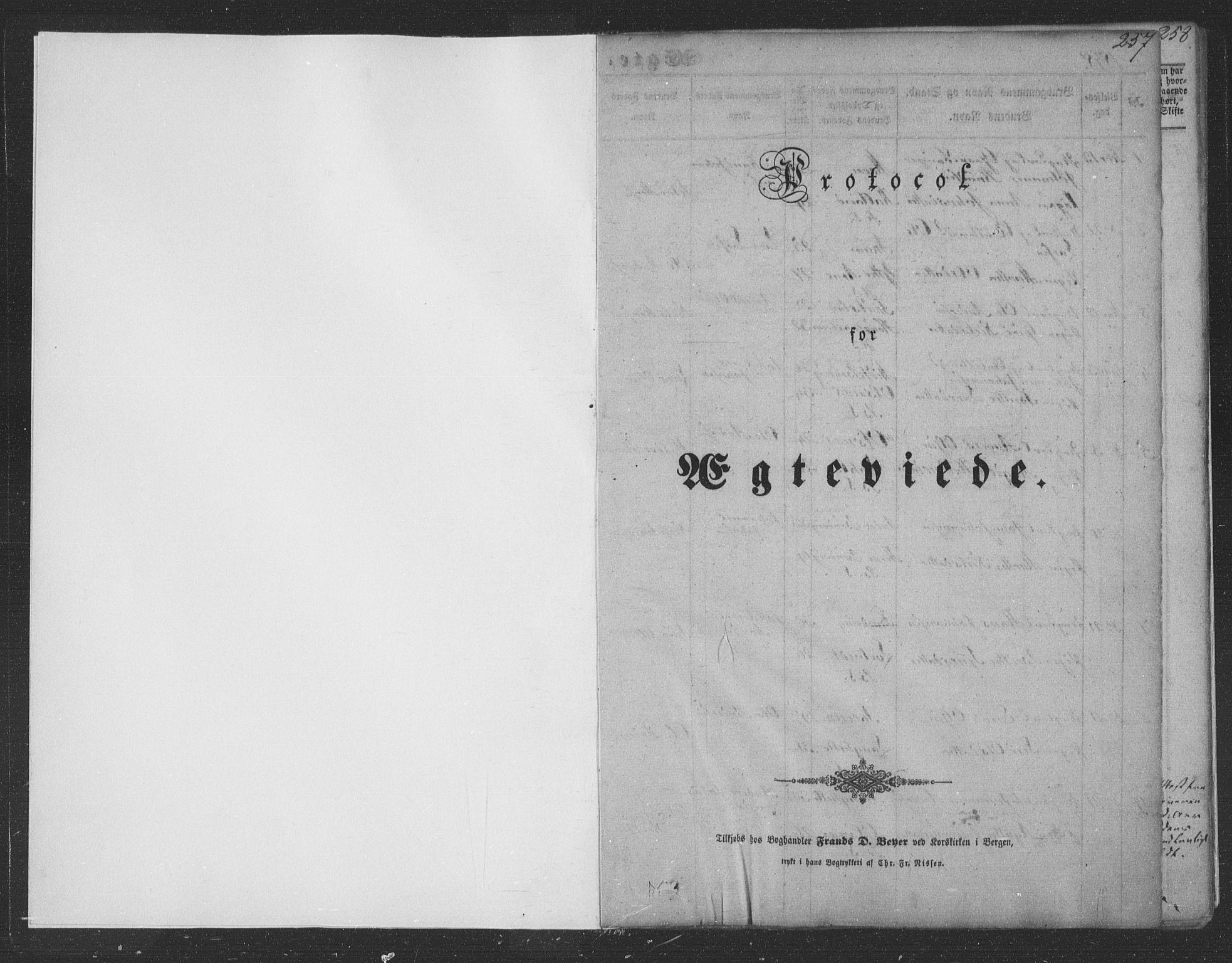 SAB, Haus Sokneprestembete, H/Haa: Ministerialbok nr. A 16 II, 1848-1857, s. 257
