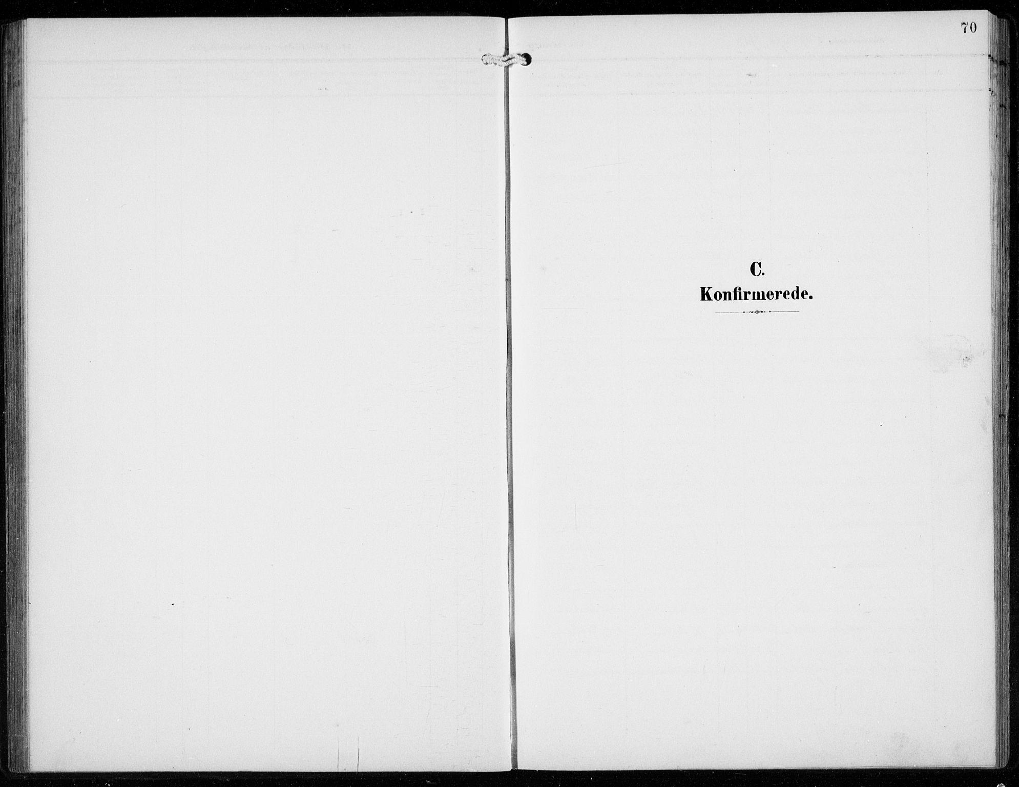 SAB, Ullensvang Sokneprestembete, H/Hab: Klokkerbok nr. F  1, 1902-1935, s. 70