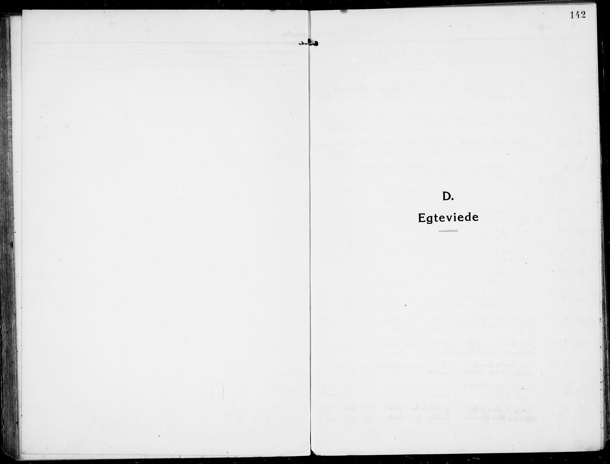 SAKO, Rjukan kirkebøker, F/Fa/L0002: Ministerialbok nr. 2, 1912-1917, s. 142