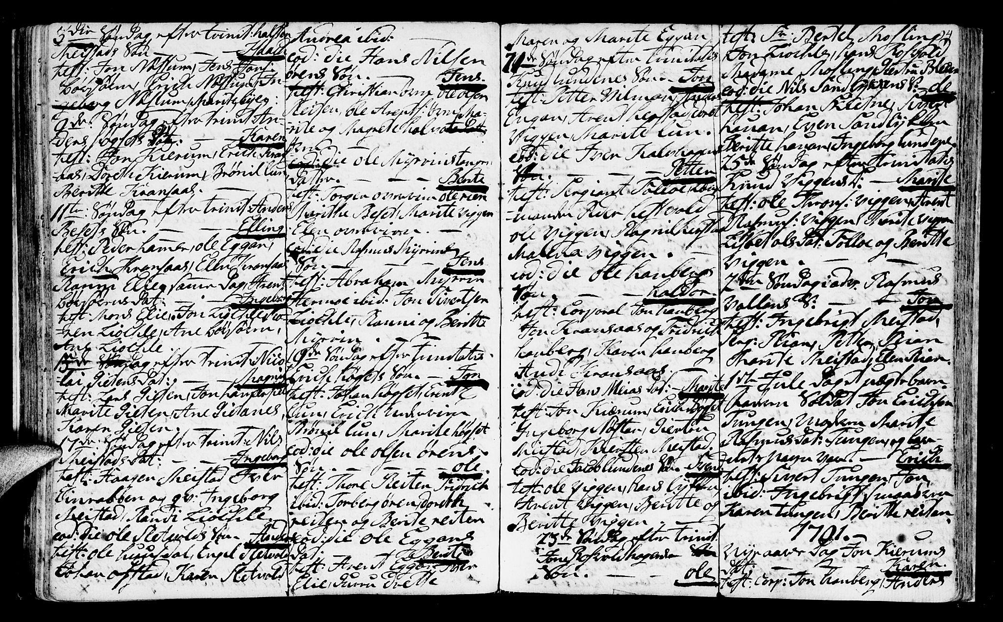 SAT, Ministerialprotokoller, klokkerbøker og fødselsregistre - Sør-Trøndelag, 665/L0768: Ministerialbok nr. 665A03, 1754-1803, s. 94
