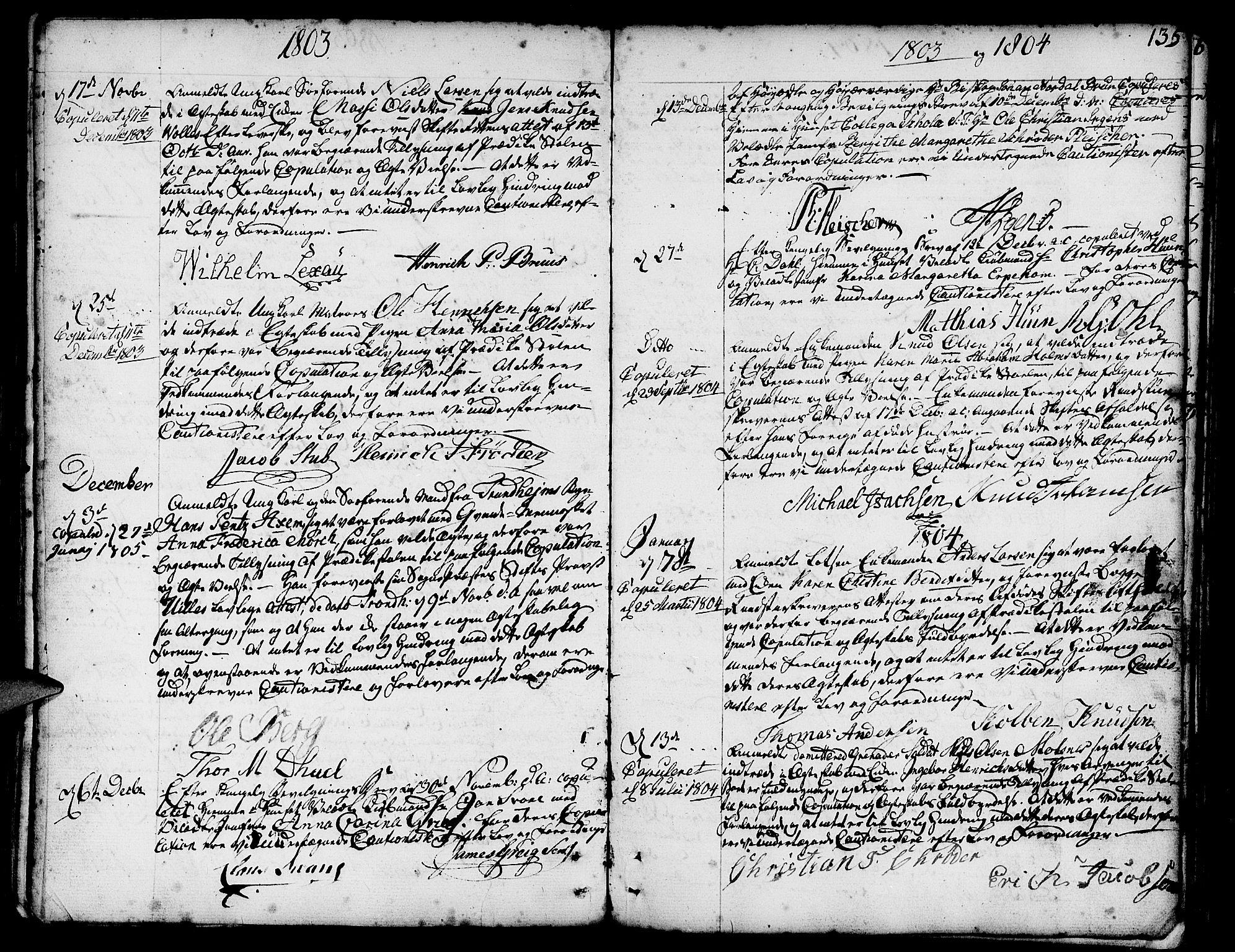SAB, Nykirken Sokneprestembete, H/Haa: Ministerialbok nr. A 8, 1776-1814, s. 135