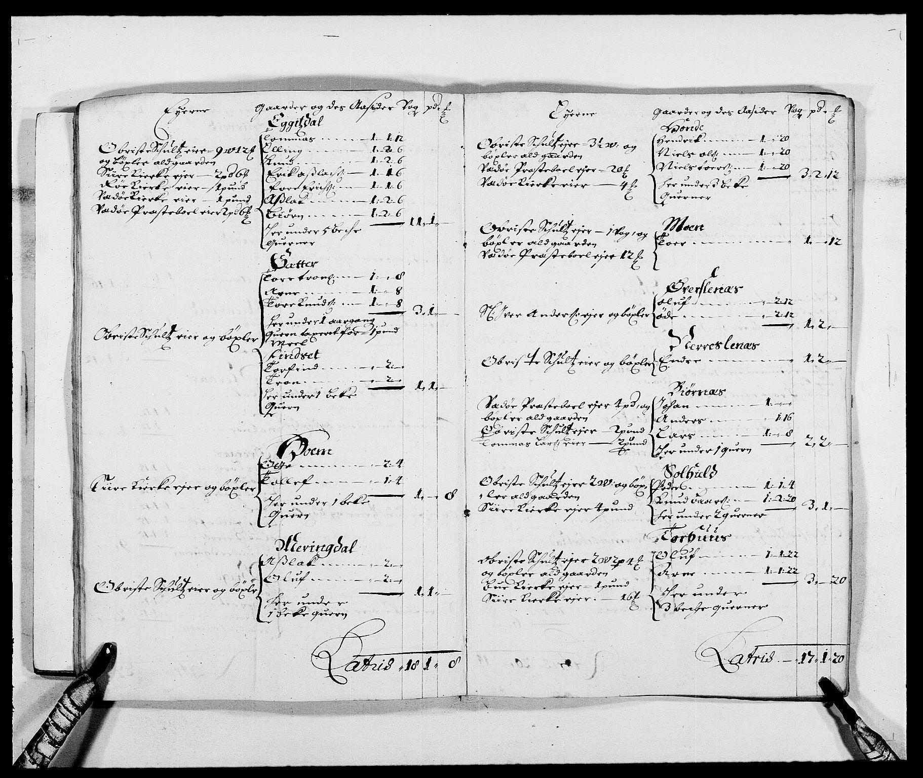 RA, Rentekammeret inntil 1814, Reviderte regnskaper, Fogderegnskap, R55/L3648: Fogderegnskap Romsdal, 1687-1689, s. 16