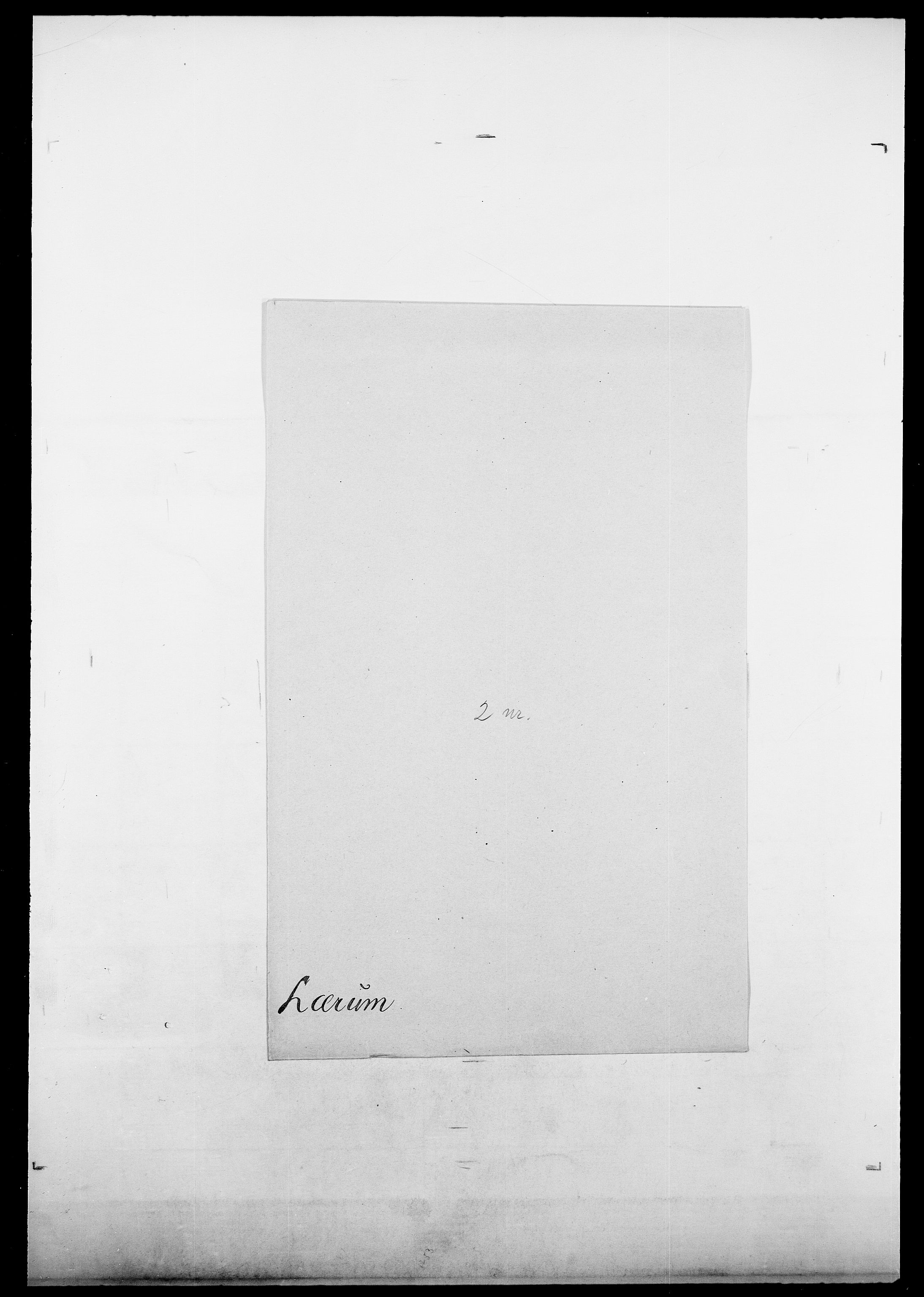 SAO, Delgobe, Charles Antoine - samling, D/Da/L0024: Lobech - Lærum, s. 839