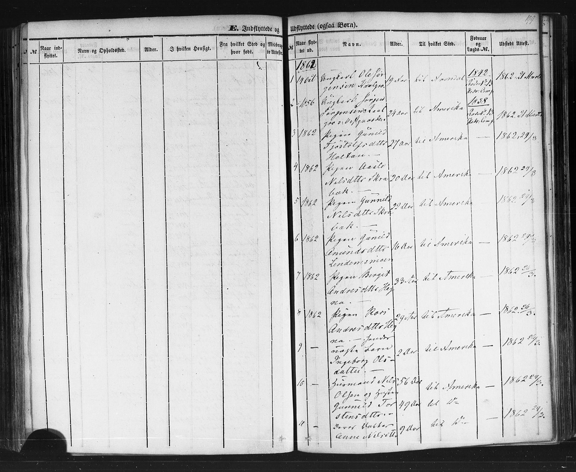 SAKO, Sauherad kirkebøker, F/Fb/L0001: Ministerialbok nr. II 1, 1851-1877, s. 199