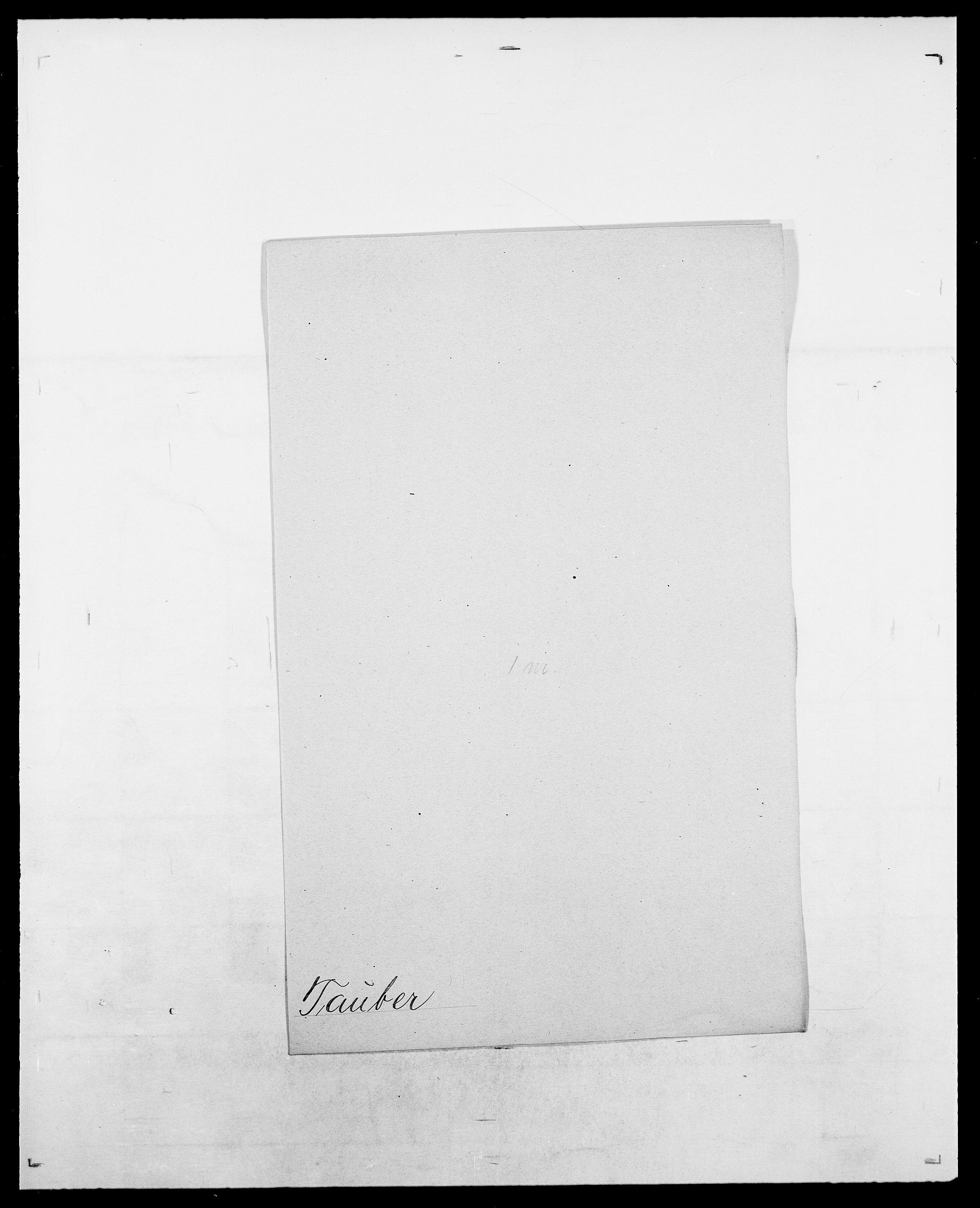 SAO, Delgobe, Charles Antoine - samling, D/Da/L0038: Svanenskjold - Thornsohn, s. 346
