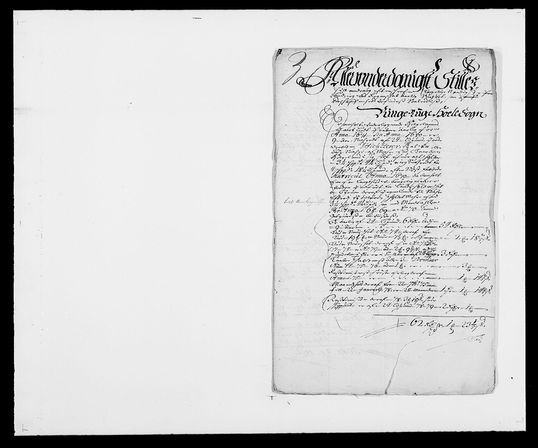 RA, Rentekammeret inntil 1814, Reviderte regnskaper, Fogderegnskap, R21/L1443: Fogderegnskap Ringerike og Hallingdal, 1678-1680, s. 375