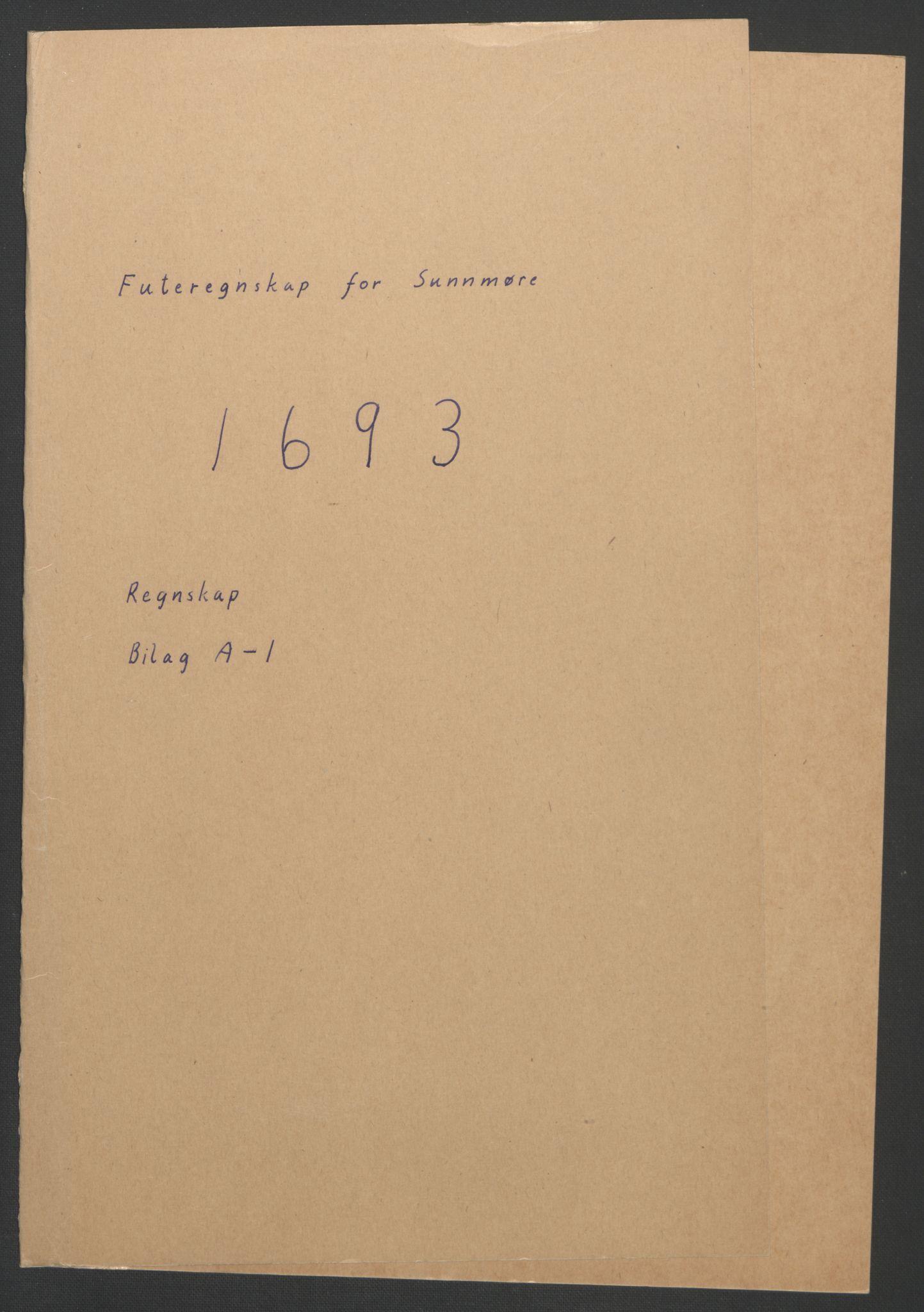 RA, Rentekammeret inntil 1814, Reviderte regnskaper, Fogderegnskap, R54/L3554: Fogderegnskap Sunnmøre, 1691-1693, s. 339