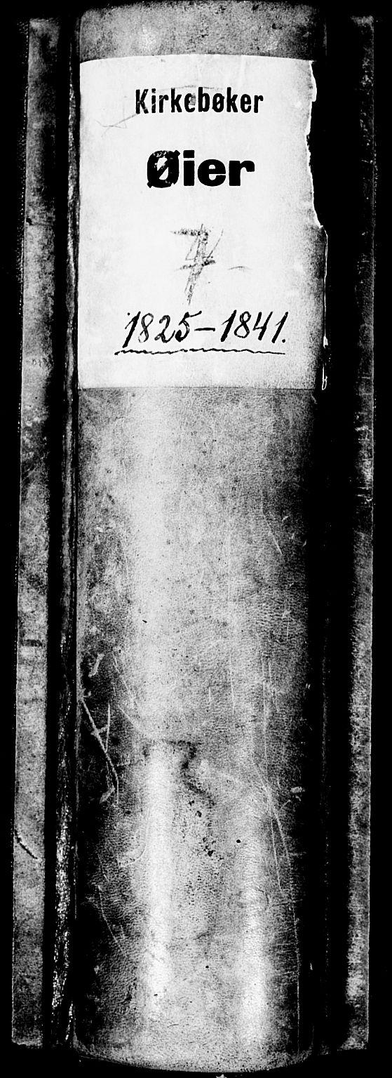 SAH, Øyer prestekontor, Ministerialbok nr. 4, 1824-1841