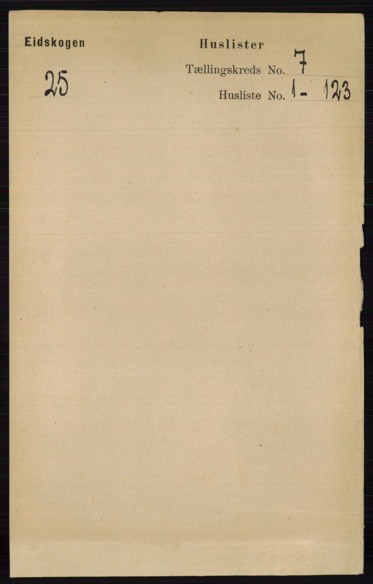 RA, Folketelling 1891 for 0420 Eidskog herred, 1891, s. 3550