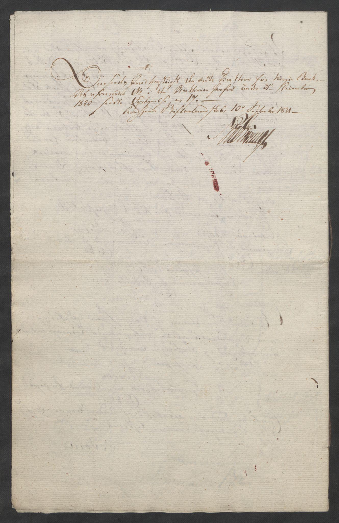 NOBA, Norges Bank/Sølvskatten 1816*, 1816-1822, s. 46