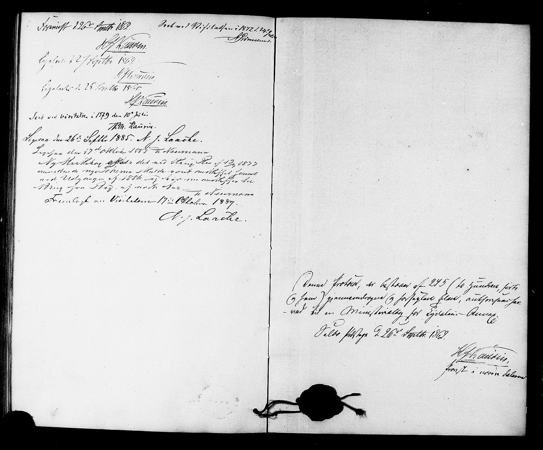 SAT, Ministerialprotokoller, klokkerbøker og fødselsregistre - Sør-Trøndelag, 698/L1163: Ministerialbok nr. 698A01, 1862-1887