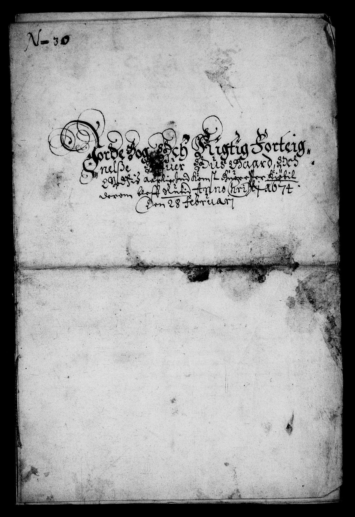 RA, Rentekammeret inntil 1814, Realistisk ordnet avdeling, On/L0008: [Jj 9]: Jordebøker innlevert til kongelig kommisjon 1672: Hammar, Osgård, Sem med Skjelbred, Fossesholm, Fiskum og Ulland (1669-1672), Strøm (1658-u.d. og 1672-73) samt Svanøy gods i Sunnfjord (1657)., 1672, s. 46