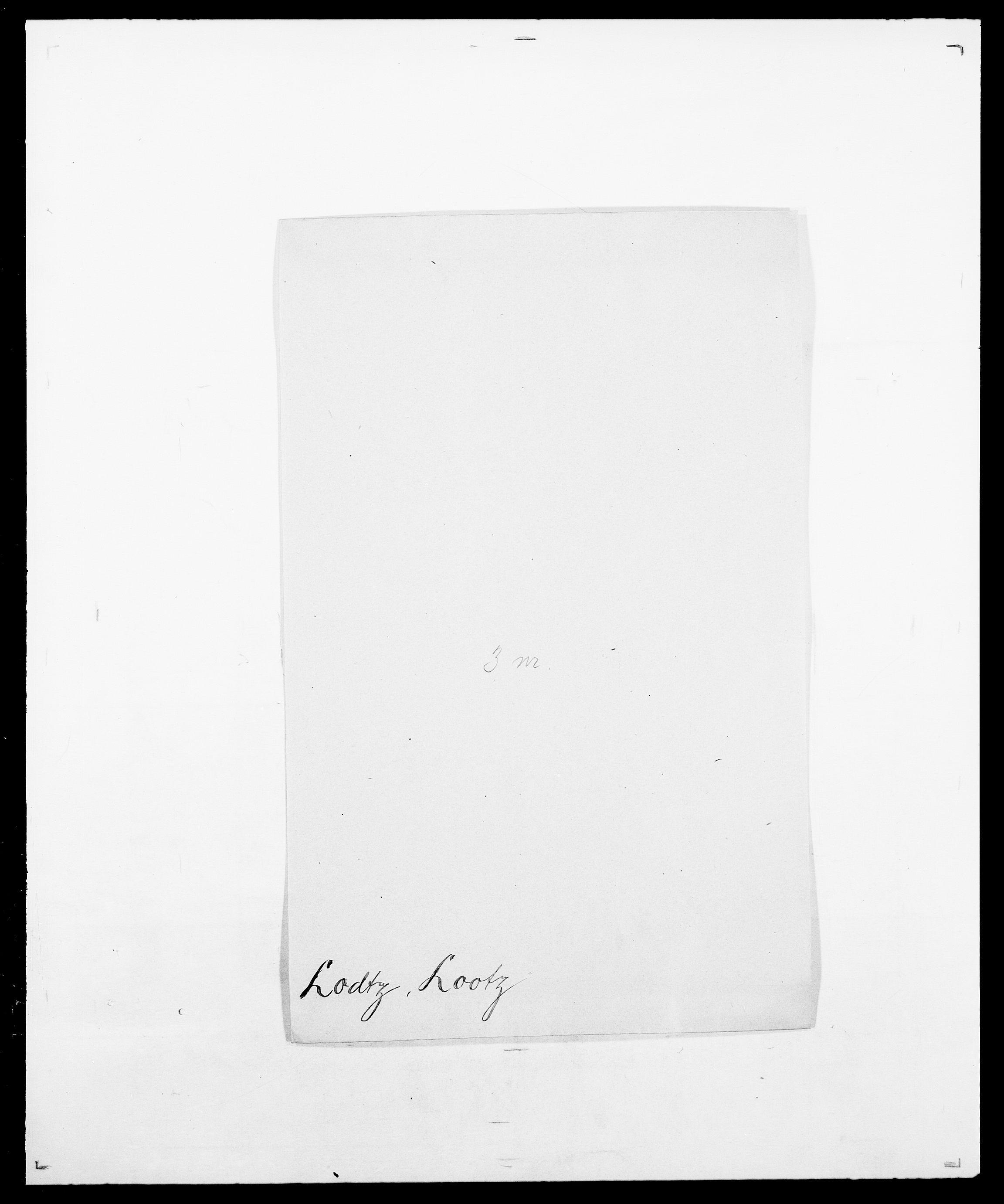 SAO, Delgobe, Charles Antoine - samling, D/Da/L0024: Lobech - Lærum, s. 37