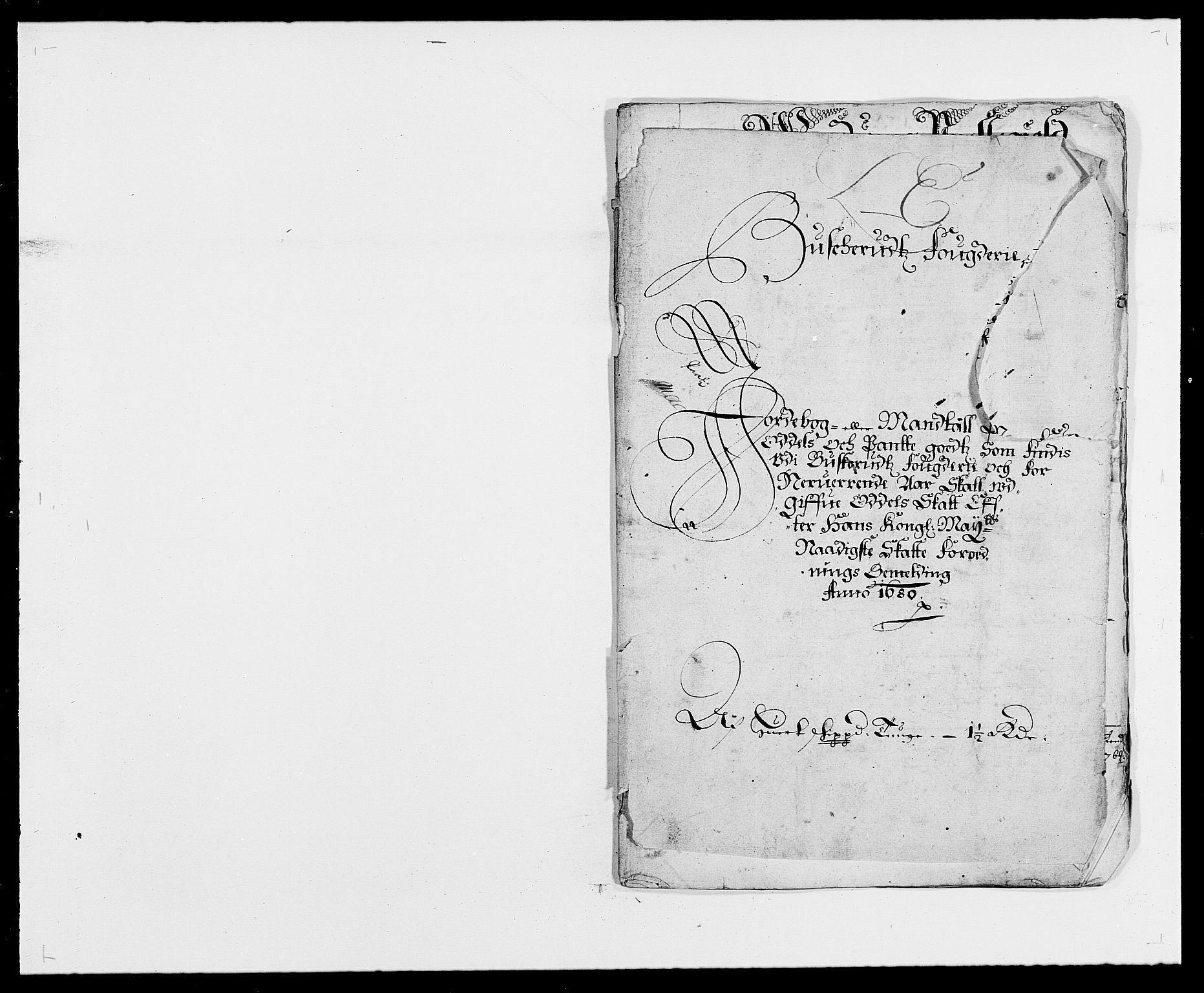 RA, Rentekammeret inntil 1814, Reviderte regnskaper, Fogderegnskap, R25/L1675: Fogderegnskap Buskerud, 1678-1681, s. 120