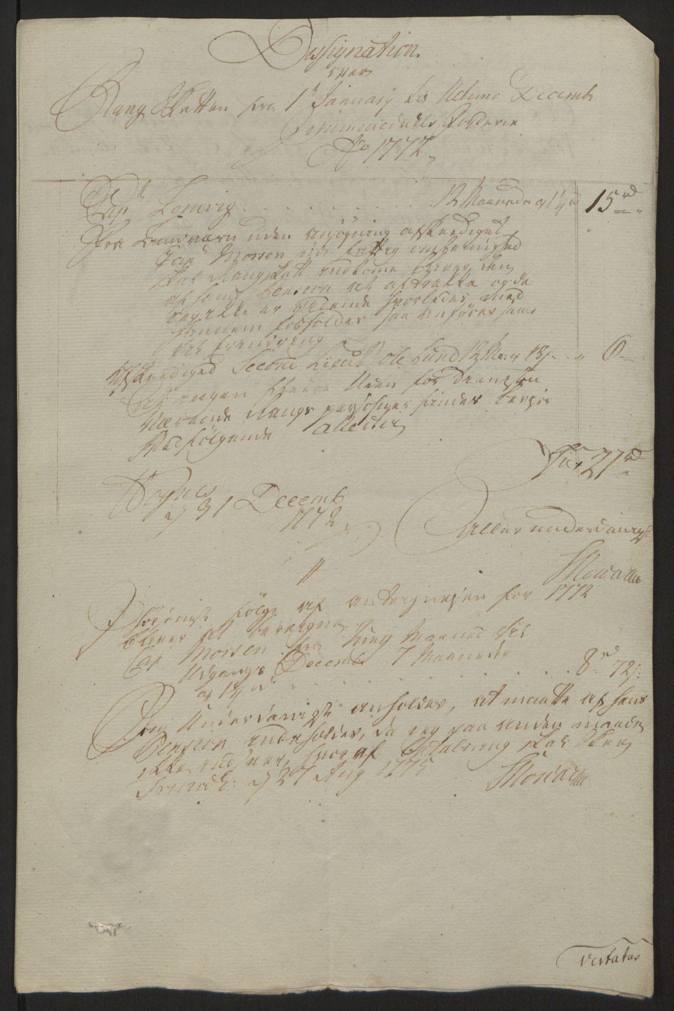 RA, Rentekammeret inntil 1814, Reviderte regnskaper, Fogderegnskap, R64/L4502: Ekstraskatten Namdal, 1762-1772, s. 430