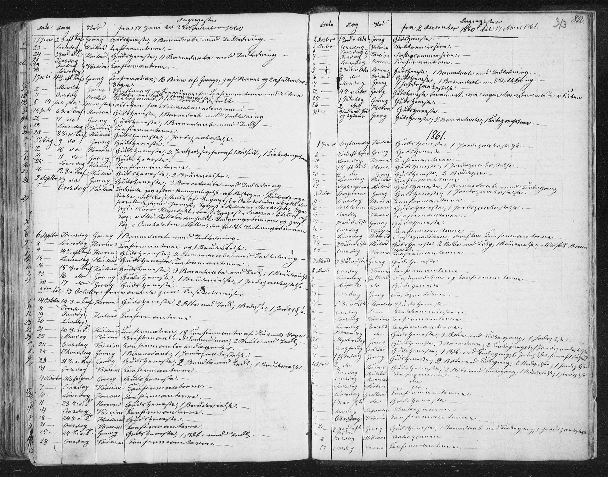 SAT, Ministerialprotokoller, klokkerbøker og fødselsregistre - Nord-Trøndelag, 758/L0513: Ministerialbok nr. 758A02 /1, 1839-1868, s. 313