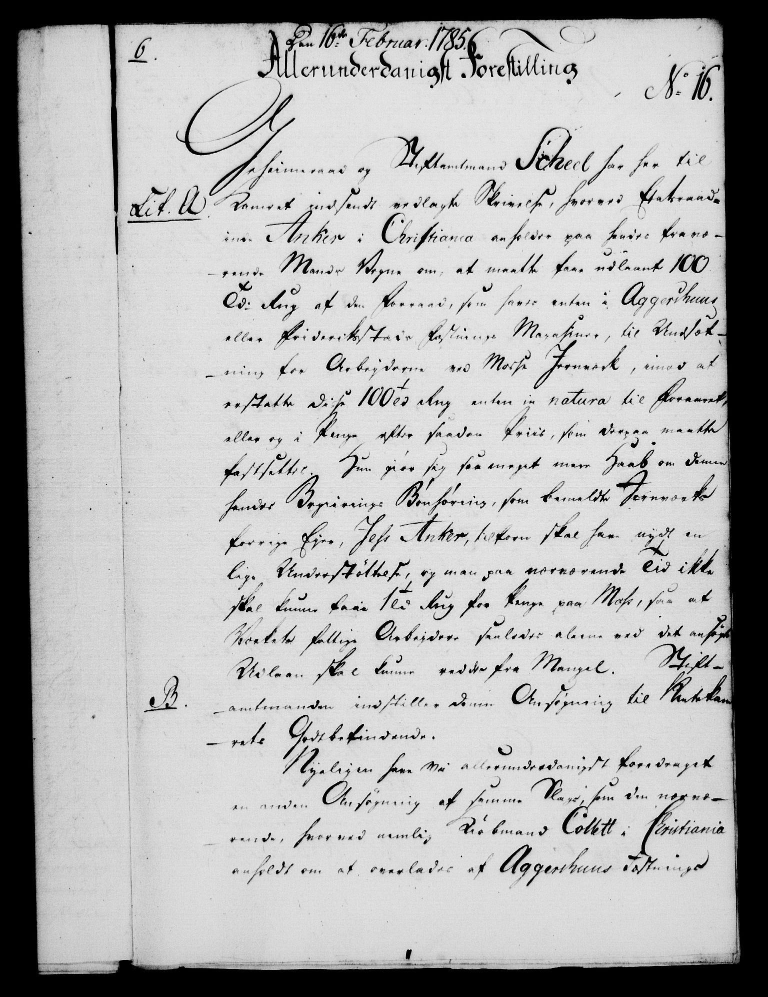 RA, Rentekammeret, Kammerkanselliet, G/Gf/Gfa/L0067: Norsk relasjons- og resolusjonsprotokoll (merket RK 52.67), 1785, s. 171