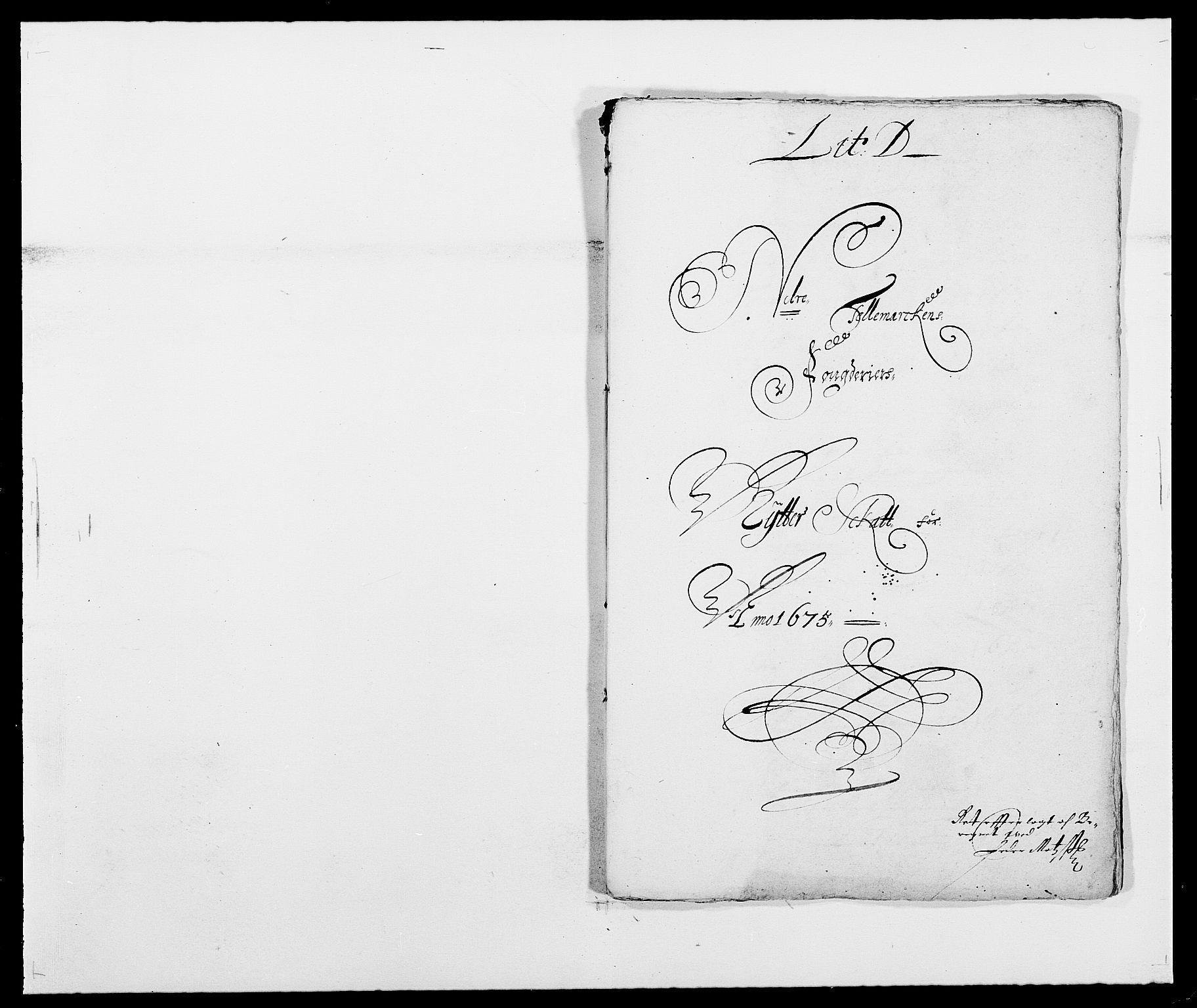 RA, Rentekammeret inntil 1814, Reviderte regnskaper, Fogderegnskap, R35/L2063: Fogderegnskap Øvre og Nedre Telemark, 1675, s. 90