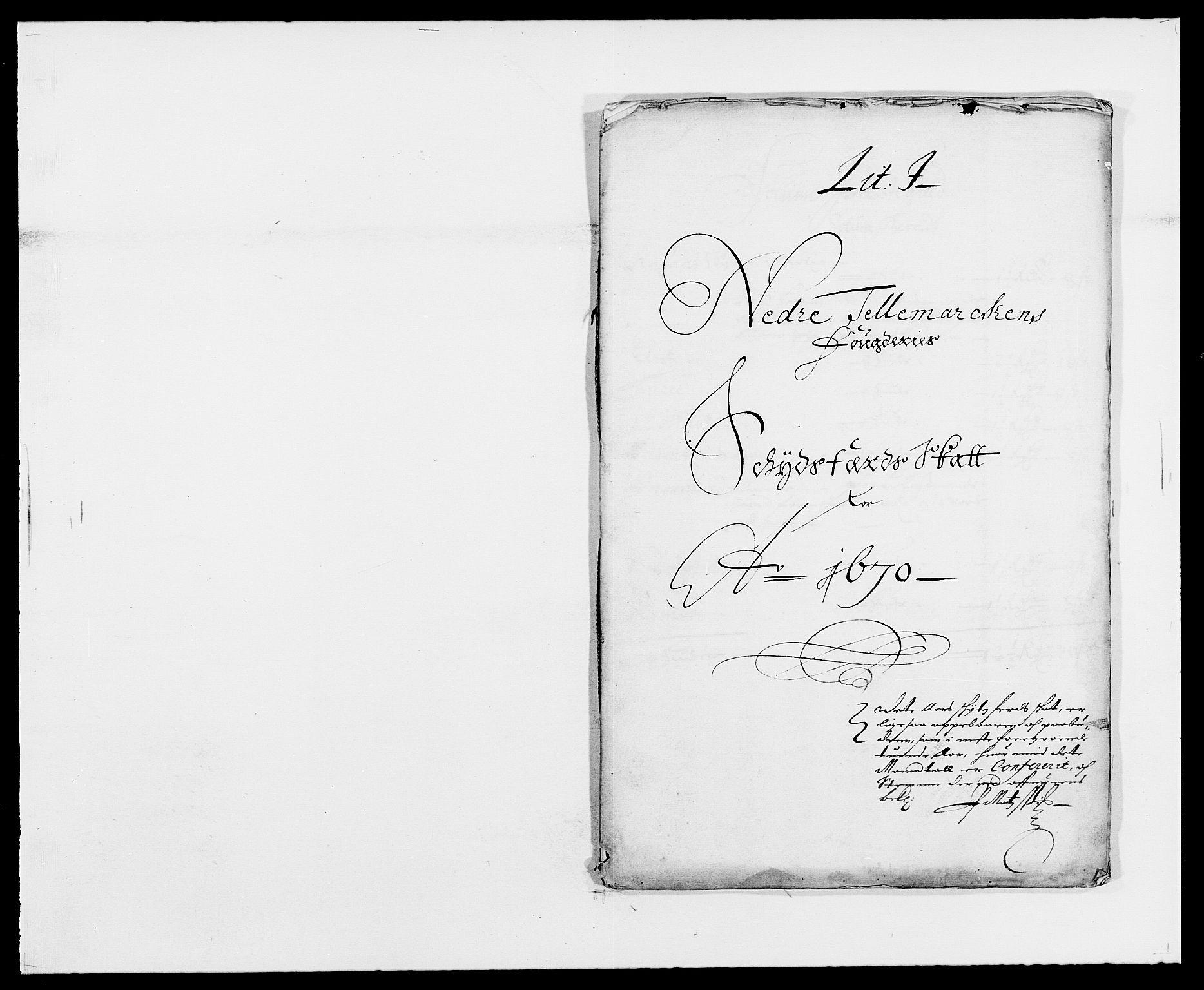 RA, Rentekammeret inntil 1814, Reviderte regnskaper, Fogderegnskap, R35/L2058: Fogderegnskap Øvre og Nedre Telemark, 1668-1670, s. 176