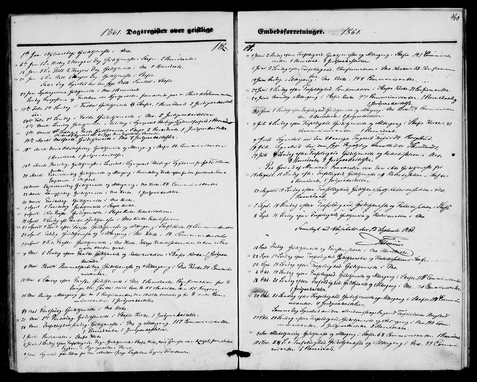 SAKO, Mo kirkebøker, F/Fa/L0005: Ministerialbok nr. I 5, 1844-1864, s. 460