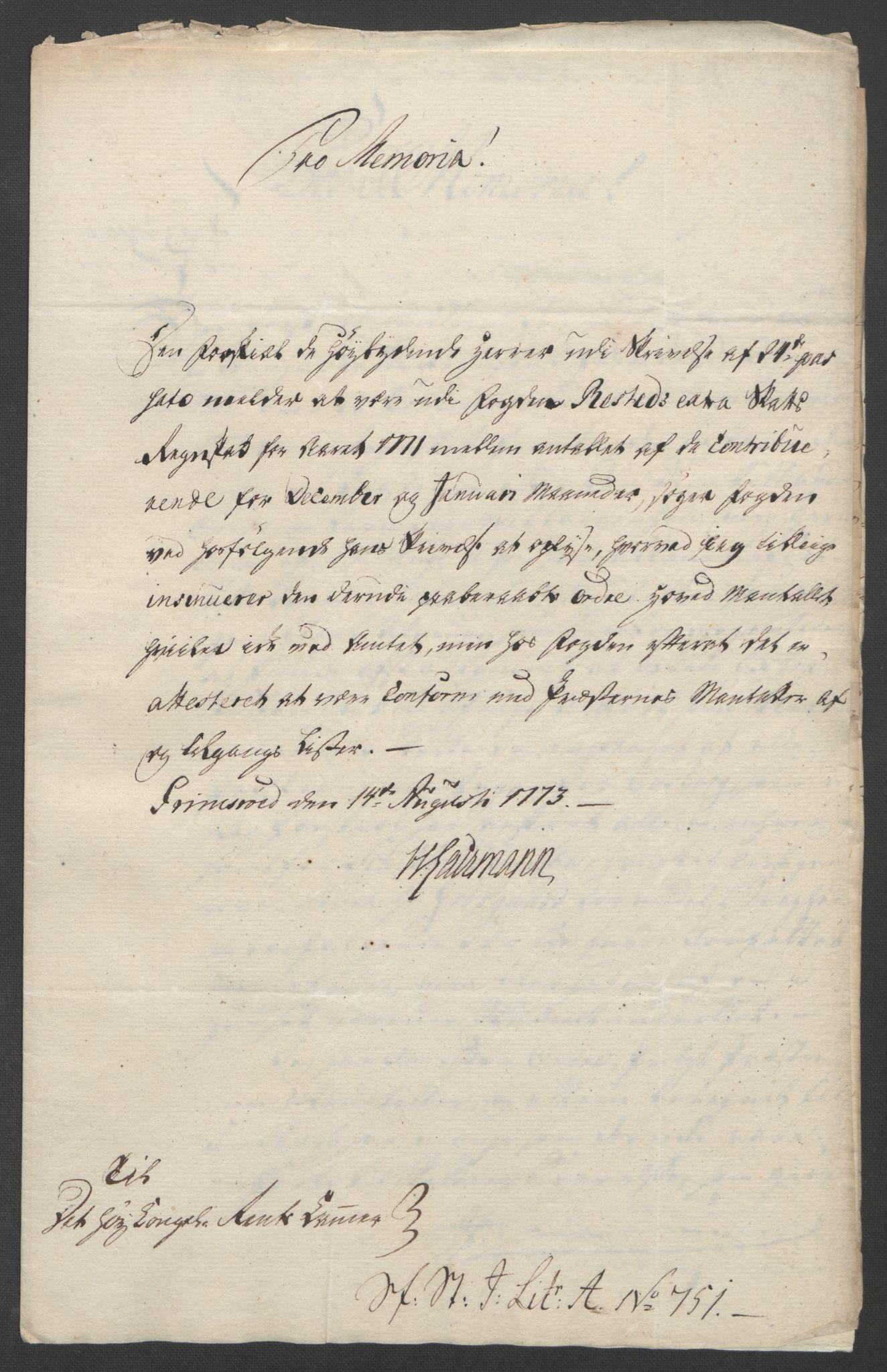 RA, Rentekammeret inntil 1814, Reviderte regnskaper, Fogderegnskap, R07/L0413: Ekstraskatten Rakkestad, Heggen og Frøland, 1762-1772, s. 613