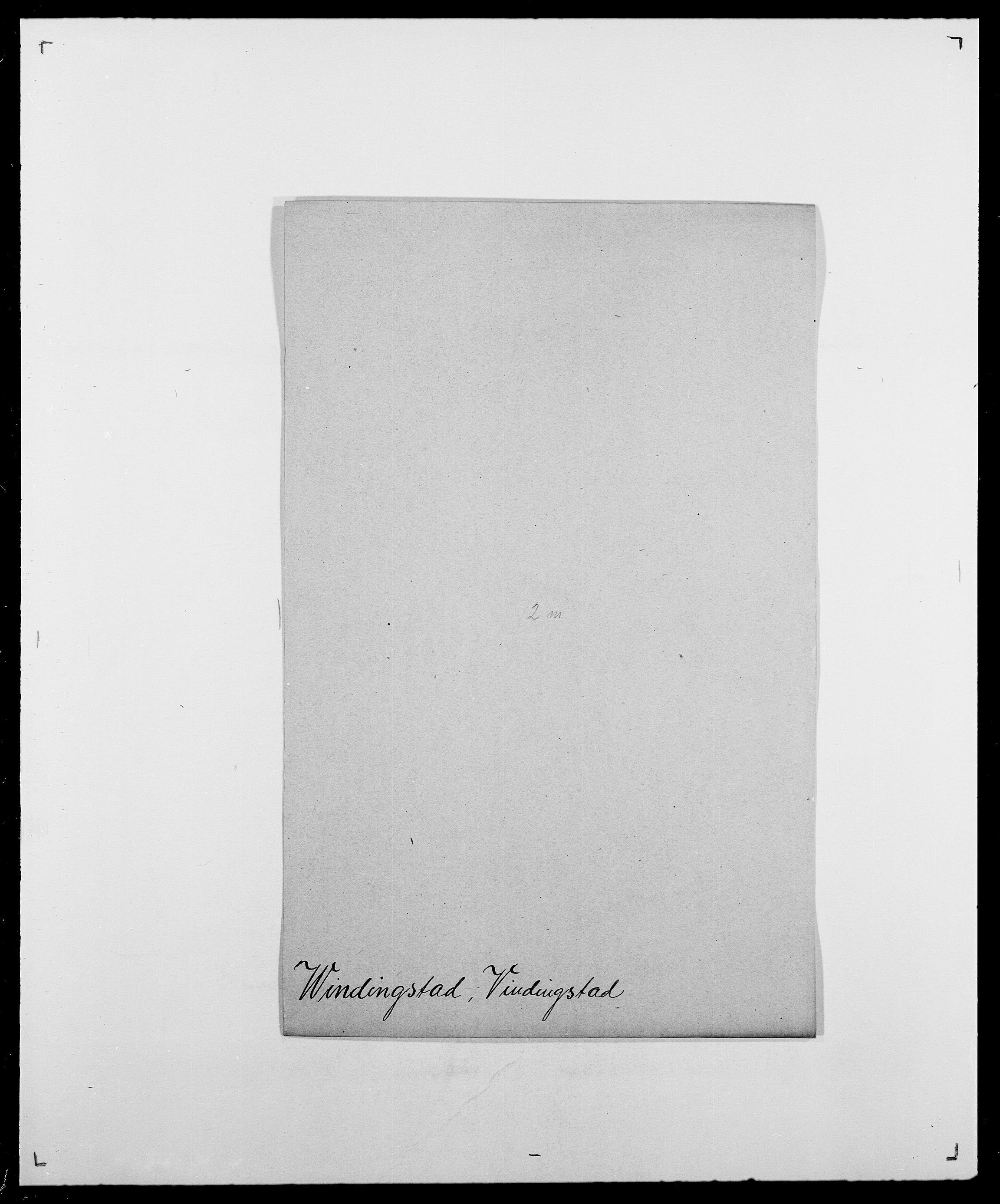 SAO, Delgobe, Charles Antoine - samling, D/Da/L0042: Vilain - Wulf, Wulff, se også Wolf, s. 166