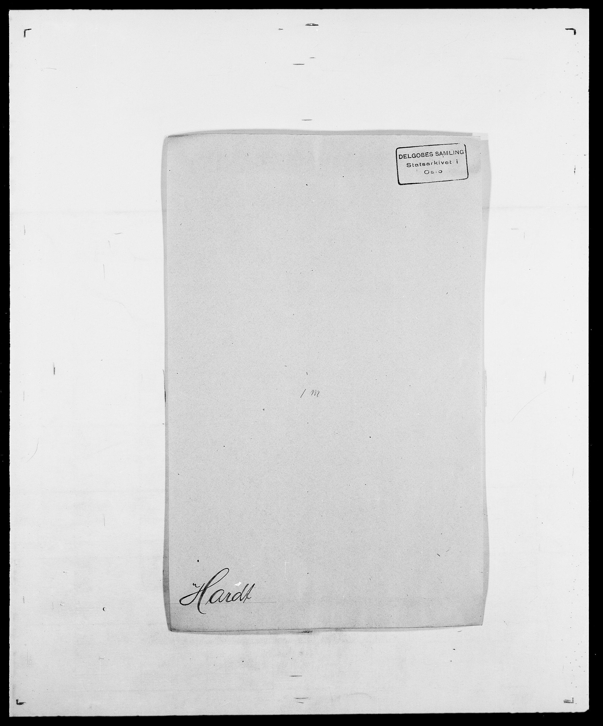 SAO, Delgobe, Charles Antoine - samling, D/Da/L0016: Hamborg - Hektoen, s. 420