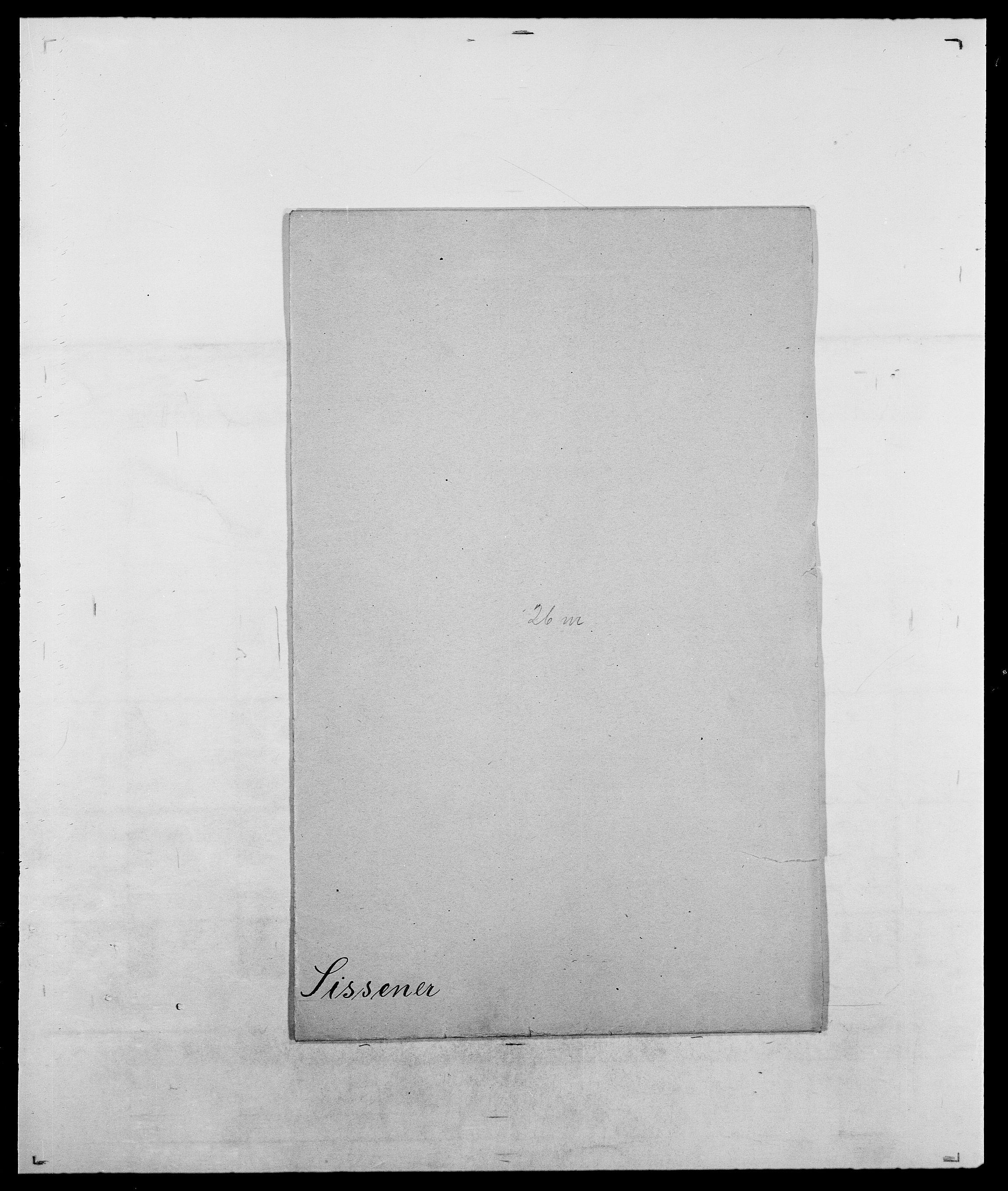 SAO, Delgobe, Charles Antoine - samling, D/Da/L0035: Schnabel - sjetman, s. 950