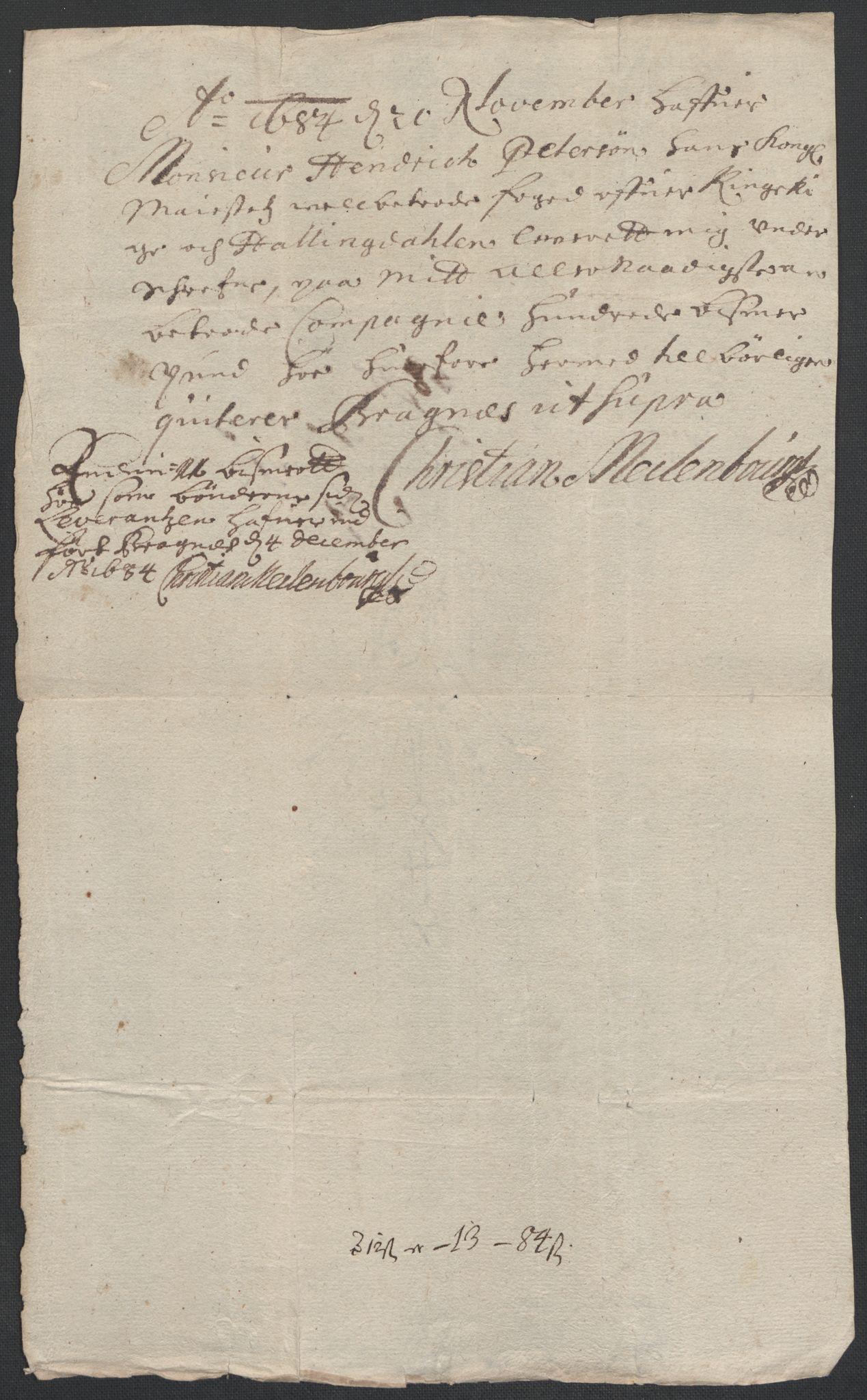 RA, Rentekammeret inntil 1814, Reviderte regnskaper, Fogderegnskap, R21/L1446: Fogderegnskap Ringerike og Hallingdal, 1683-1686, s. 269