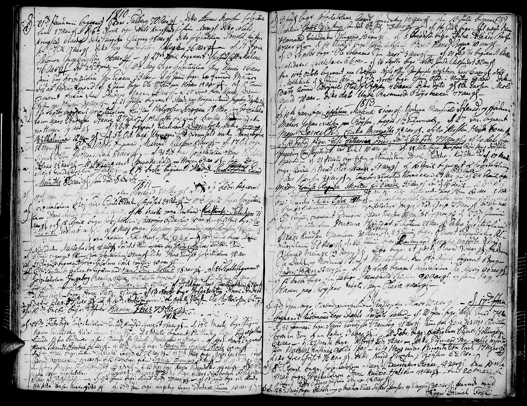 SAT, Ministerialprotokoller, klokkerbøker og fødselsregistre - Møre og Romsdal, 558/L0687: Ministerialbok nr. 558A01, 1798-1818, s. 39