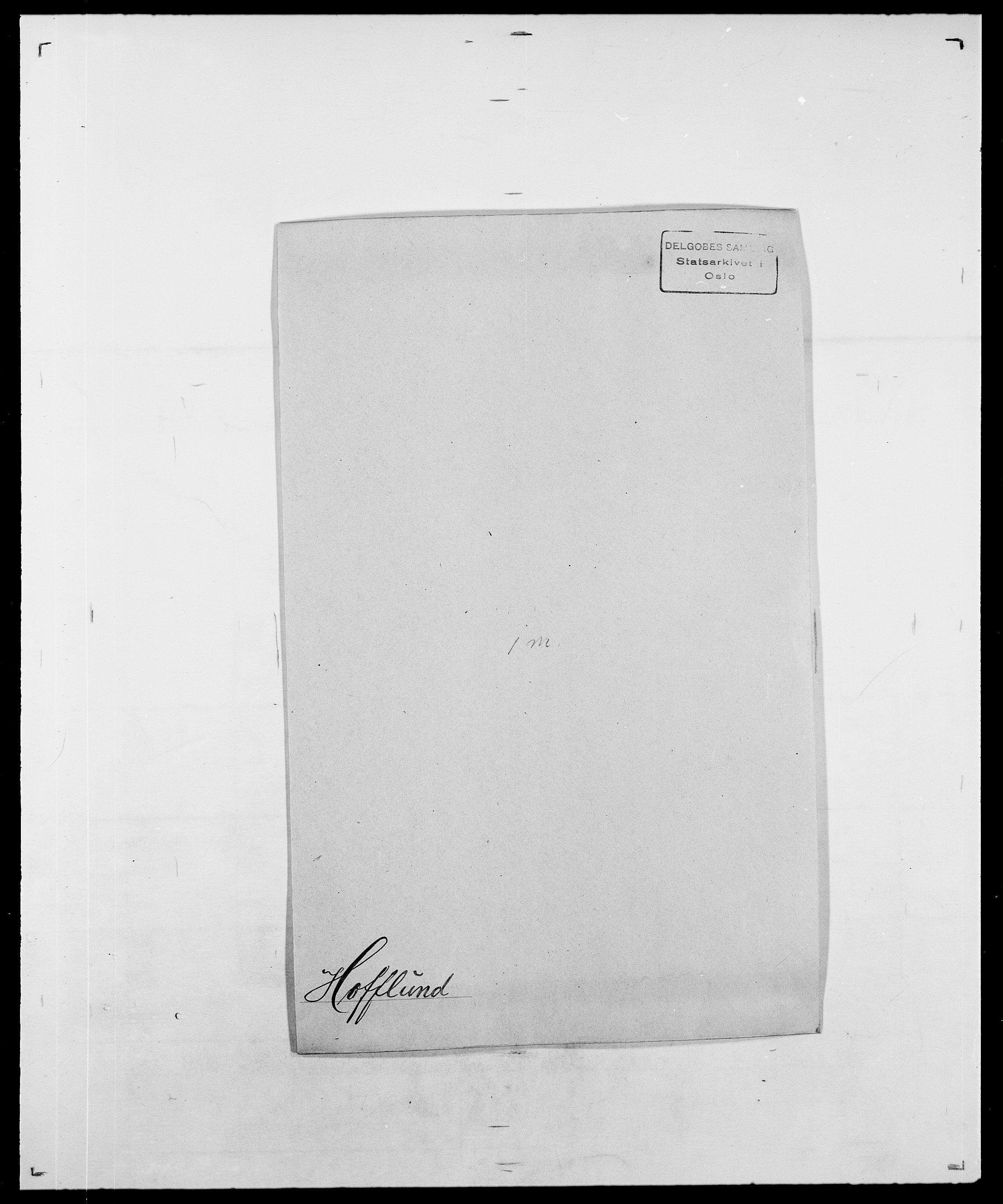SAO, Delgobe, Charles Antoine - samling, D/Da/L0018: Hoch - Howert, s. 60