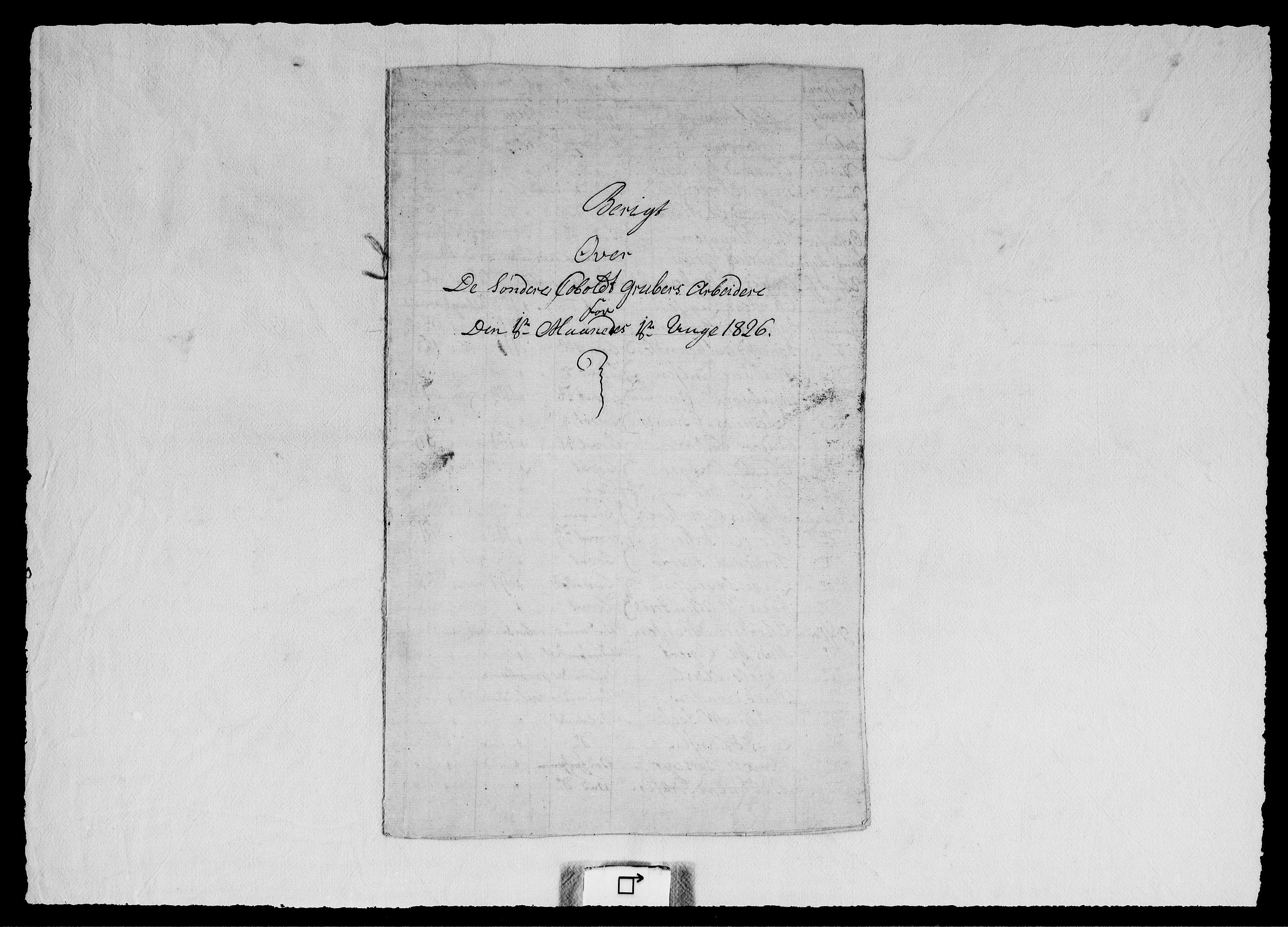 RA, Modums Blaafarveværk, G/Ge/L0328, 1826, s. 2