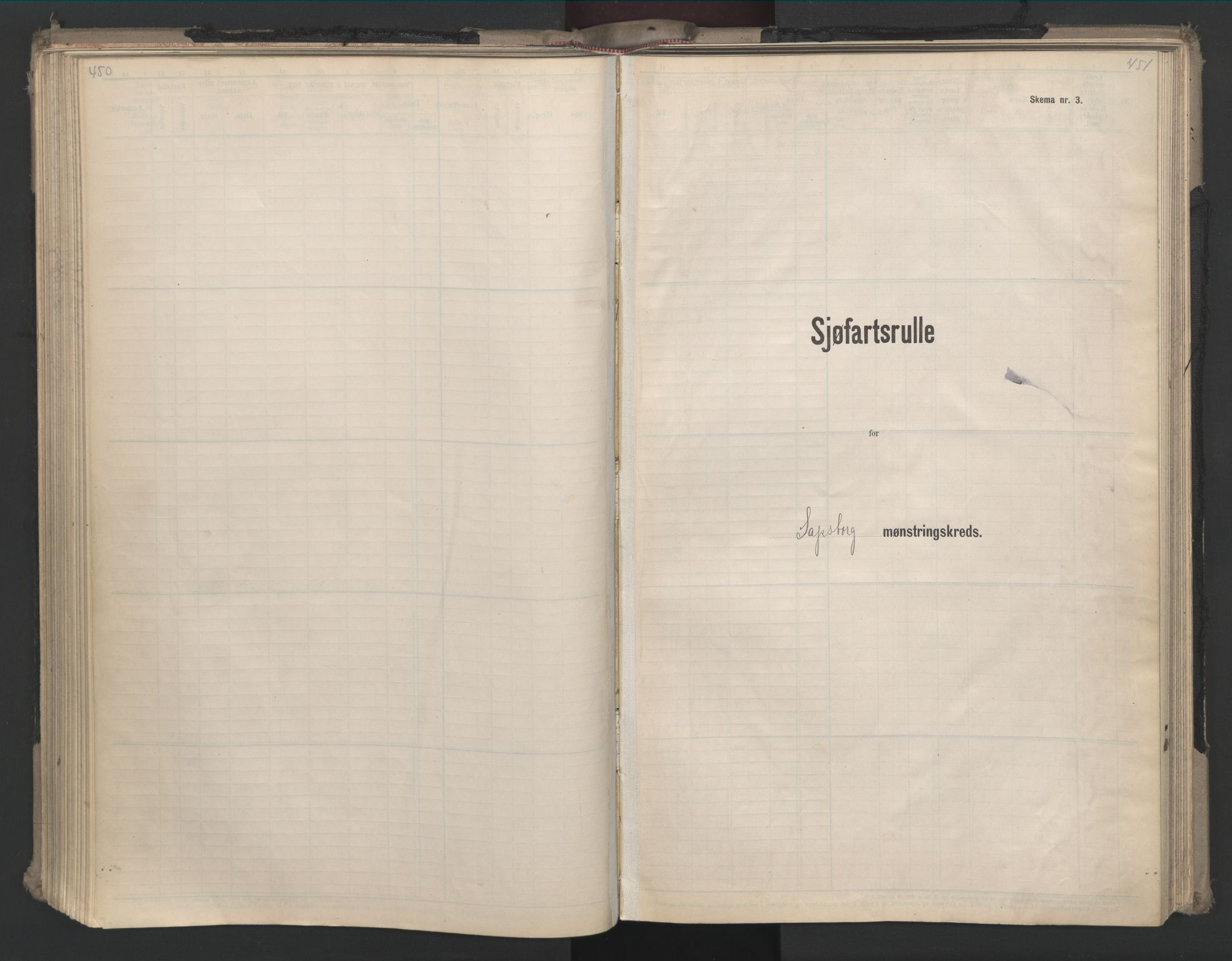 SAO, Oslo sjømannskontor, F/Fd/L0008: B-rulle, 1914, s. 450-451