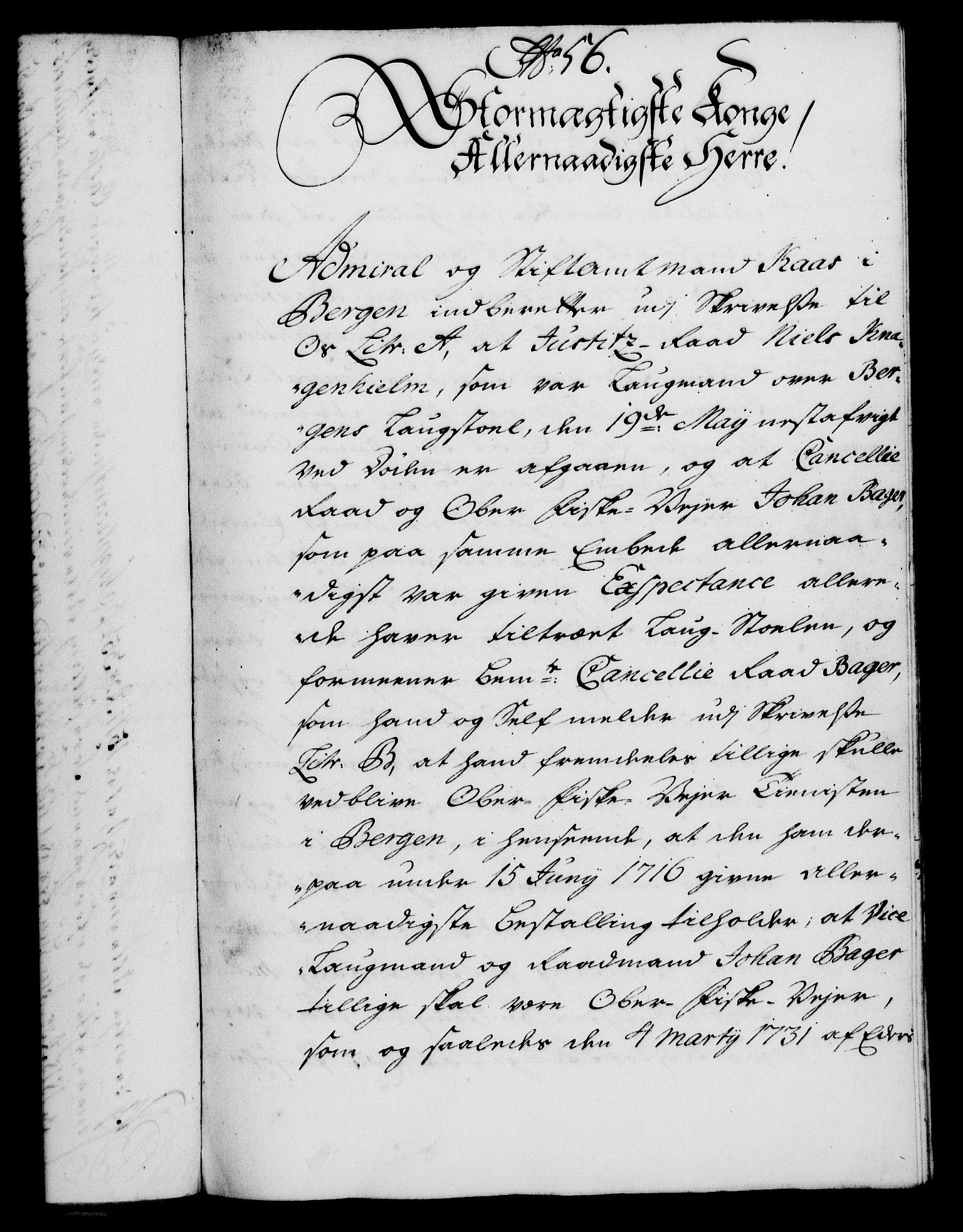 RA, Rentekammeret, Kammerkanselliet, G/Gf/Gfa/L0020: Norsk relasjons- og resolusjonsprotokoll (merket RK 52.20), 1737, s. 443
