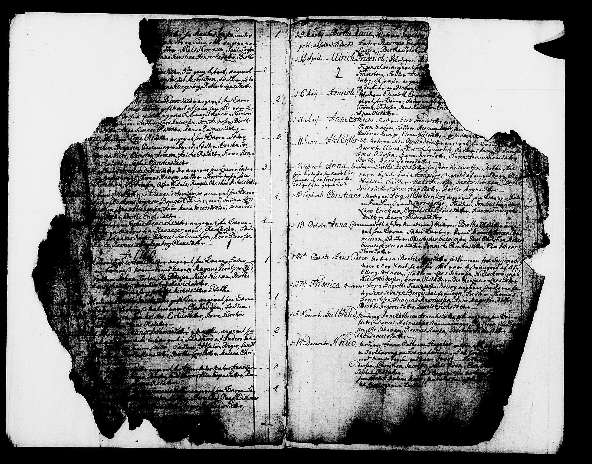 SAB, Domkirken Sokneprestembete, H/Haa/L0003: Ministerialbok nr. A 3, 1758-1789, s. 2
