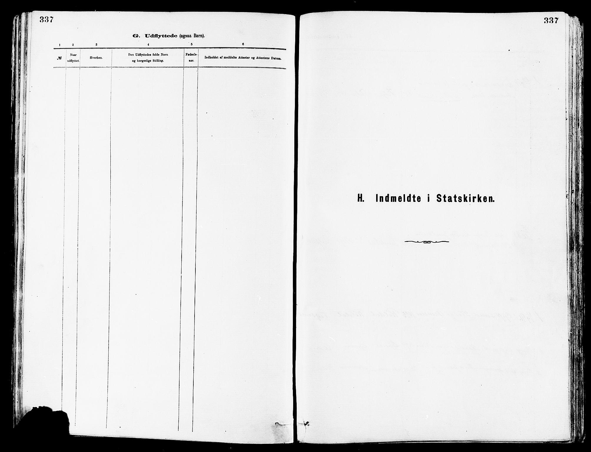 SAST, Avaldsnes sokneprestkontor, H/Ha/Haa/L0015: Ministerialbok nr. A 15, 1880-1906, s. 337